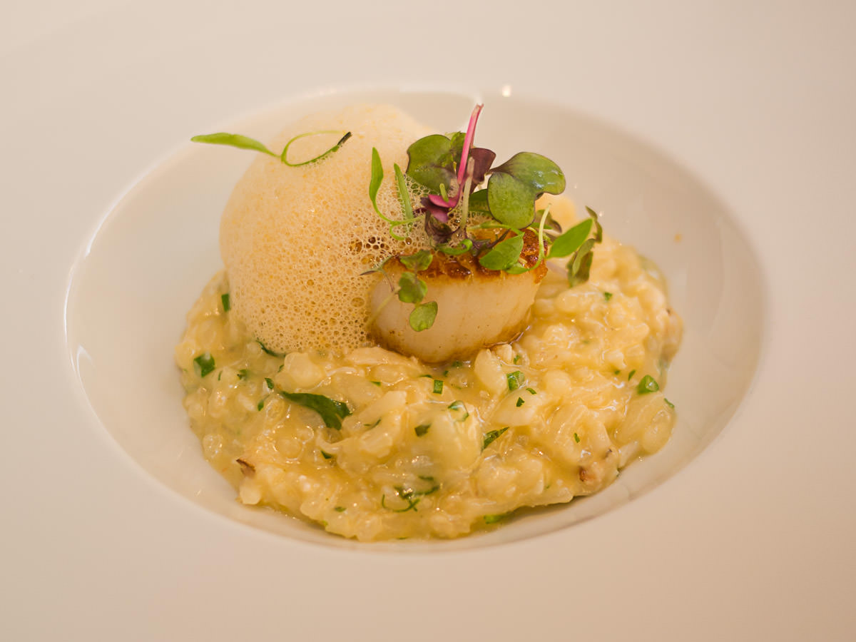 Shark Bay crab risotto