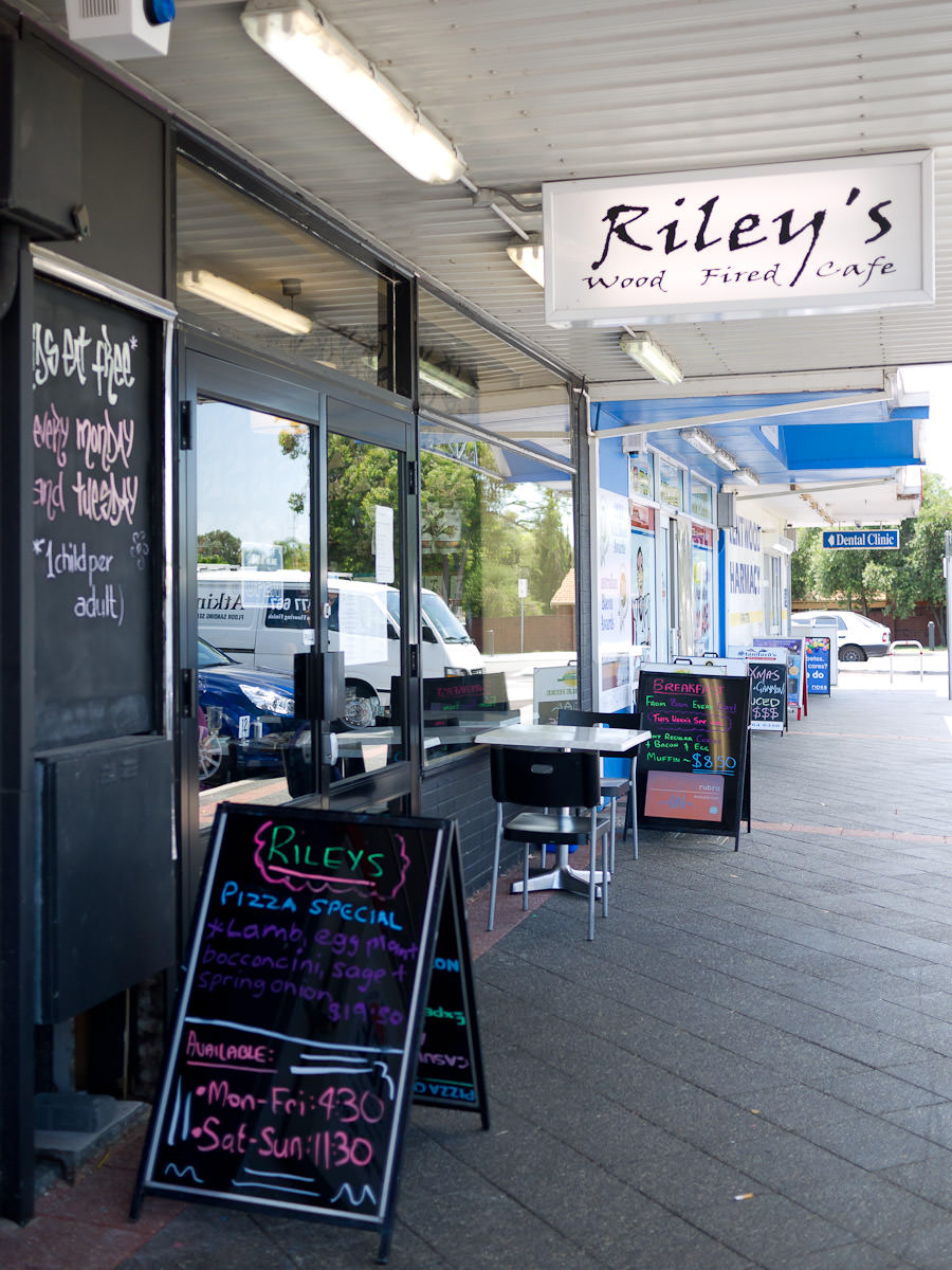 Riley's Wood Fired Cafe, Brentwood