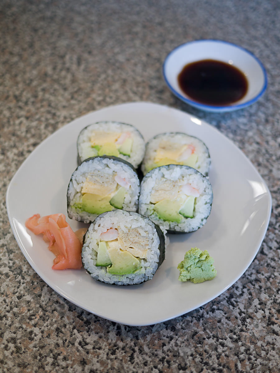 California roll (5 pcs, AU$6)