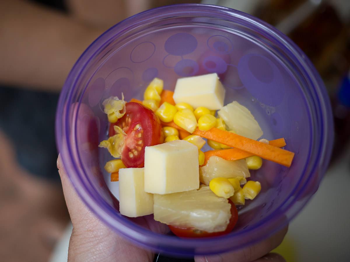 A kid's salad