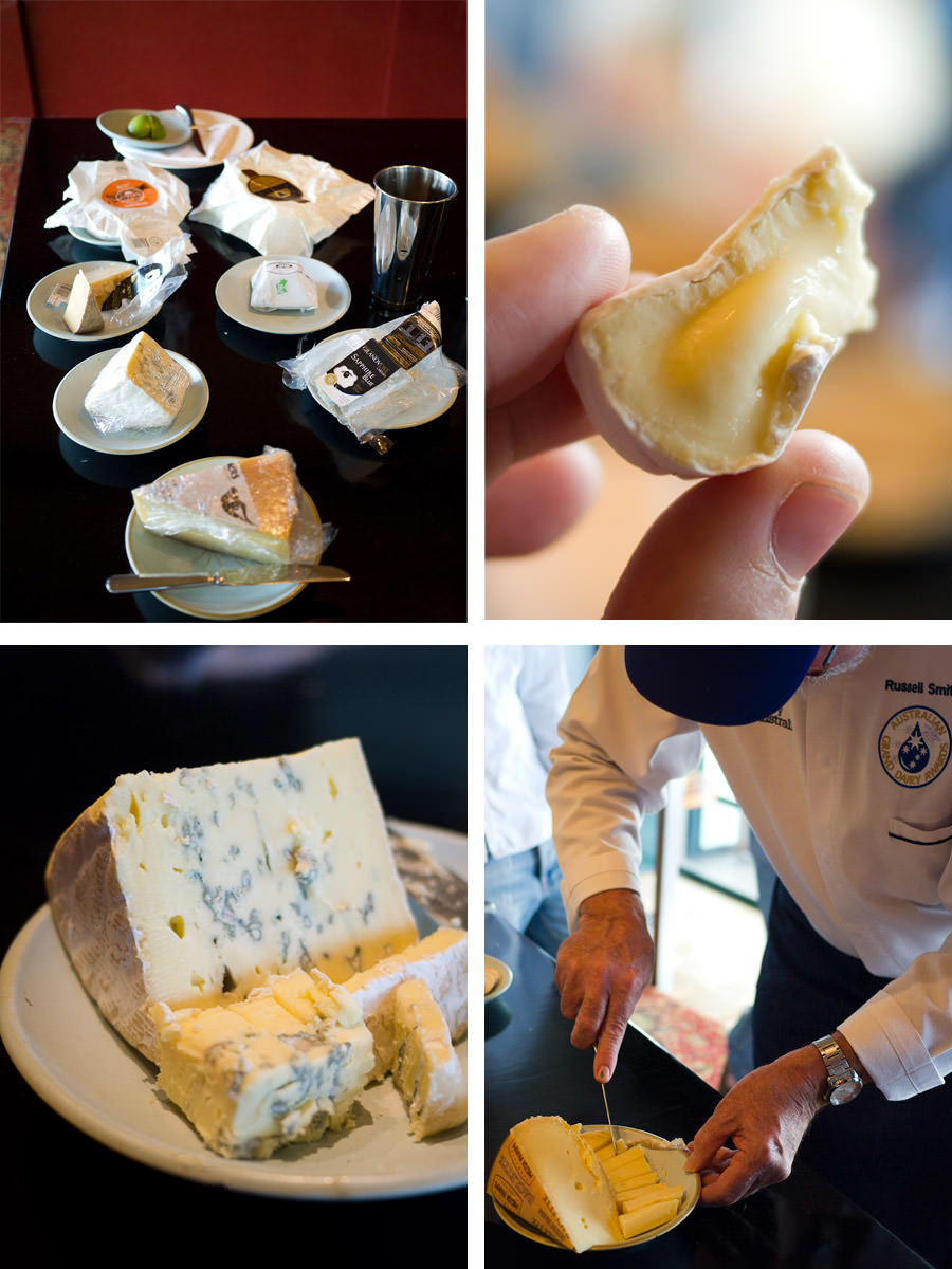 Russell Smith - cheese tasting