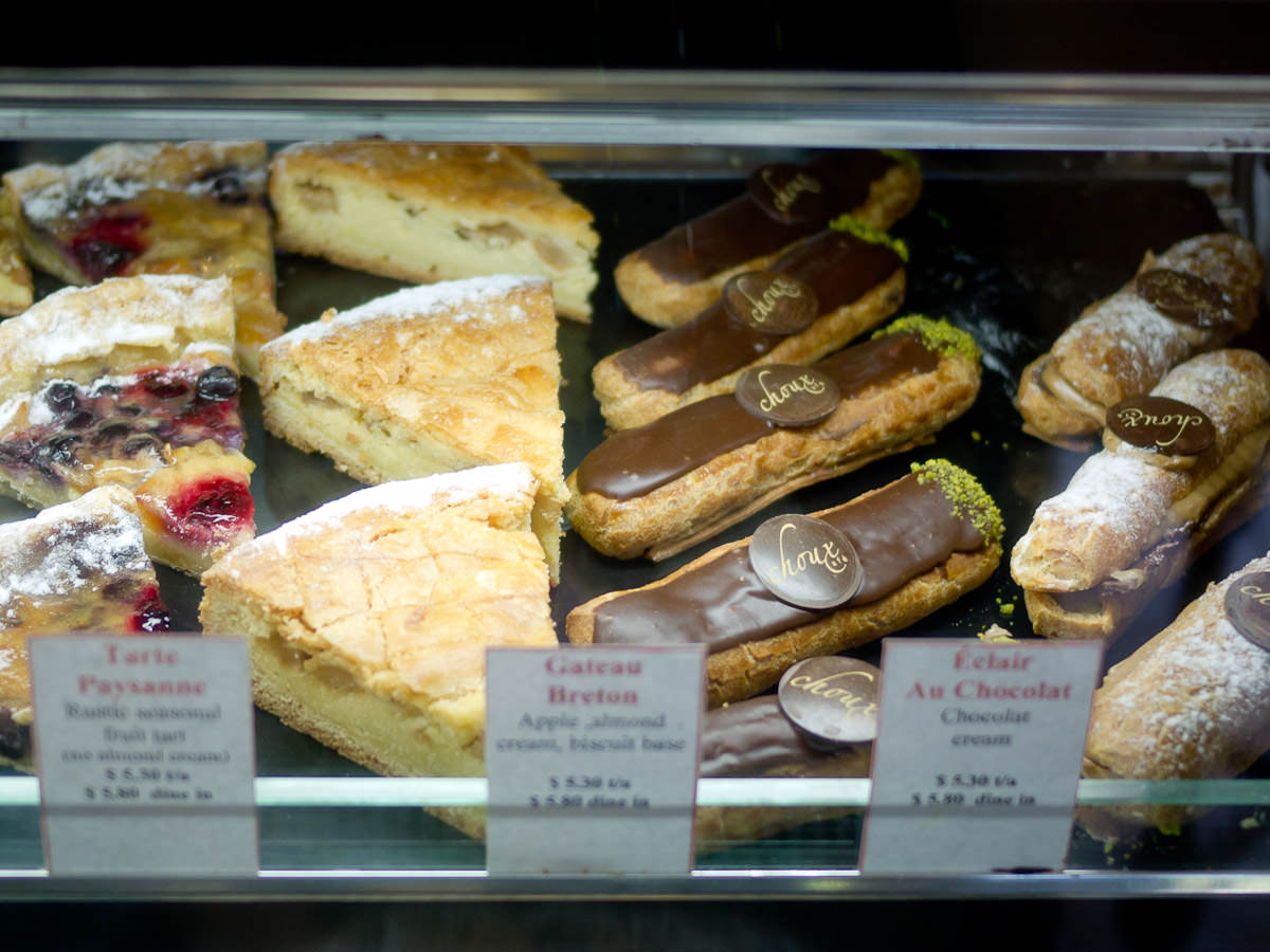 Pastries, Choux Cafe, Swanbourne