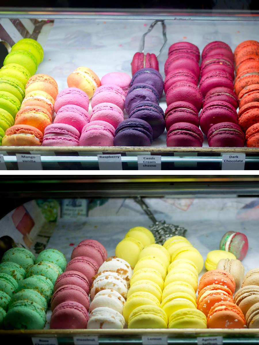 Macarons, Choux Cafe, Swanbourne