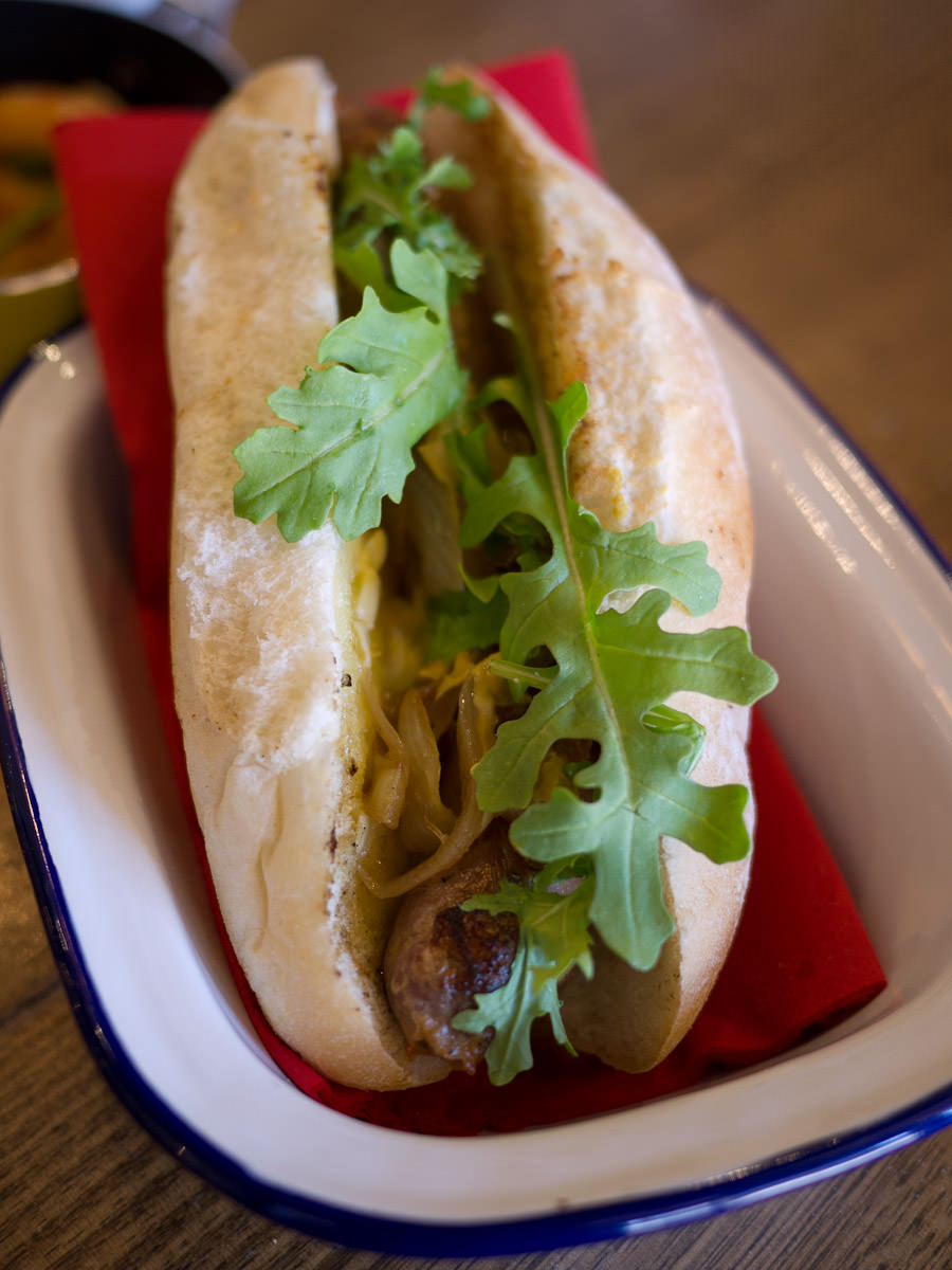 Linley Valley Toulouse pork sausage (AU$8)
