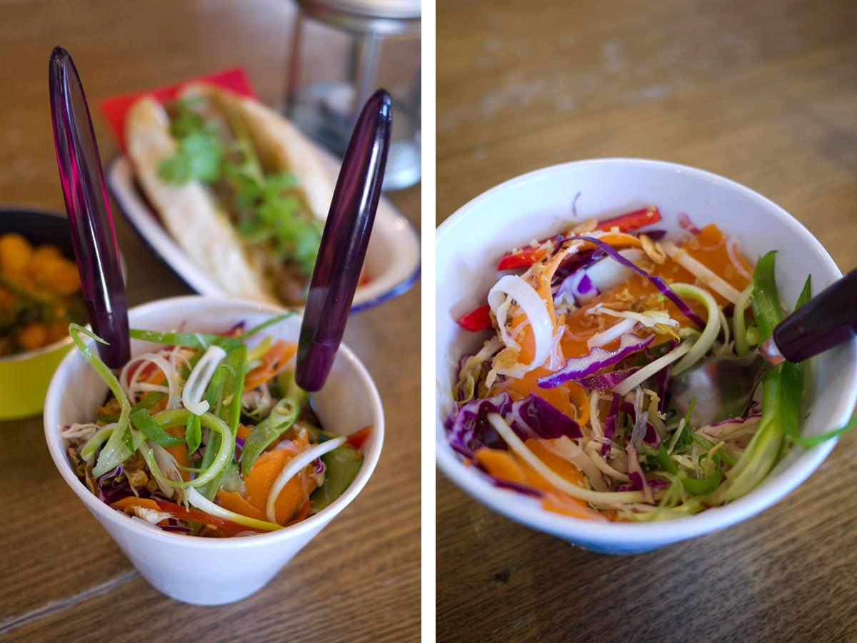 Thai-style salad (AU$6)