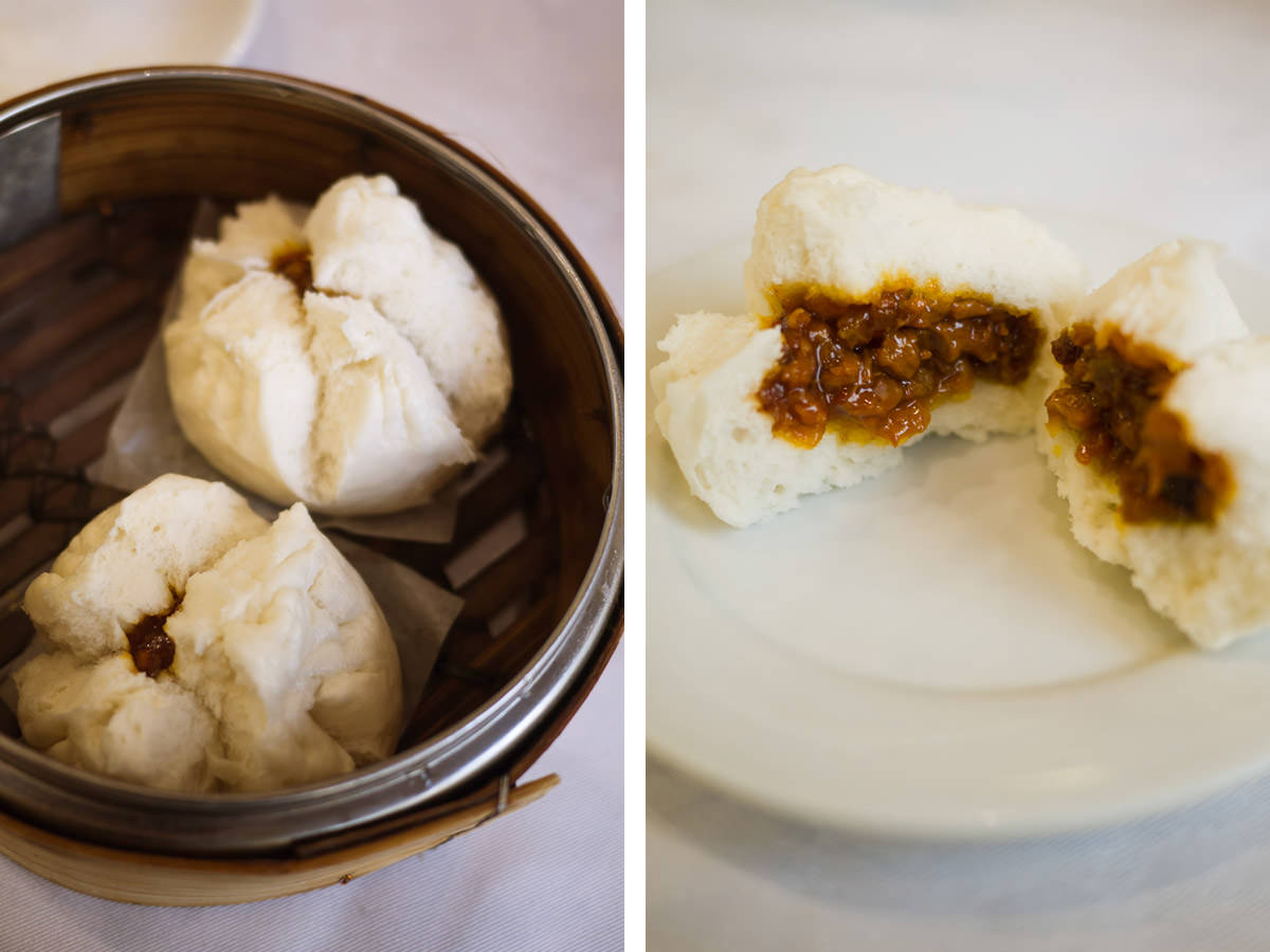 BBQ pork steamed buns