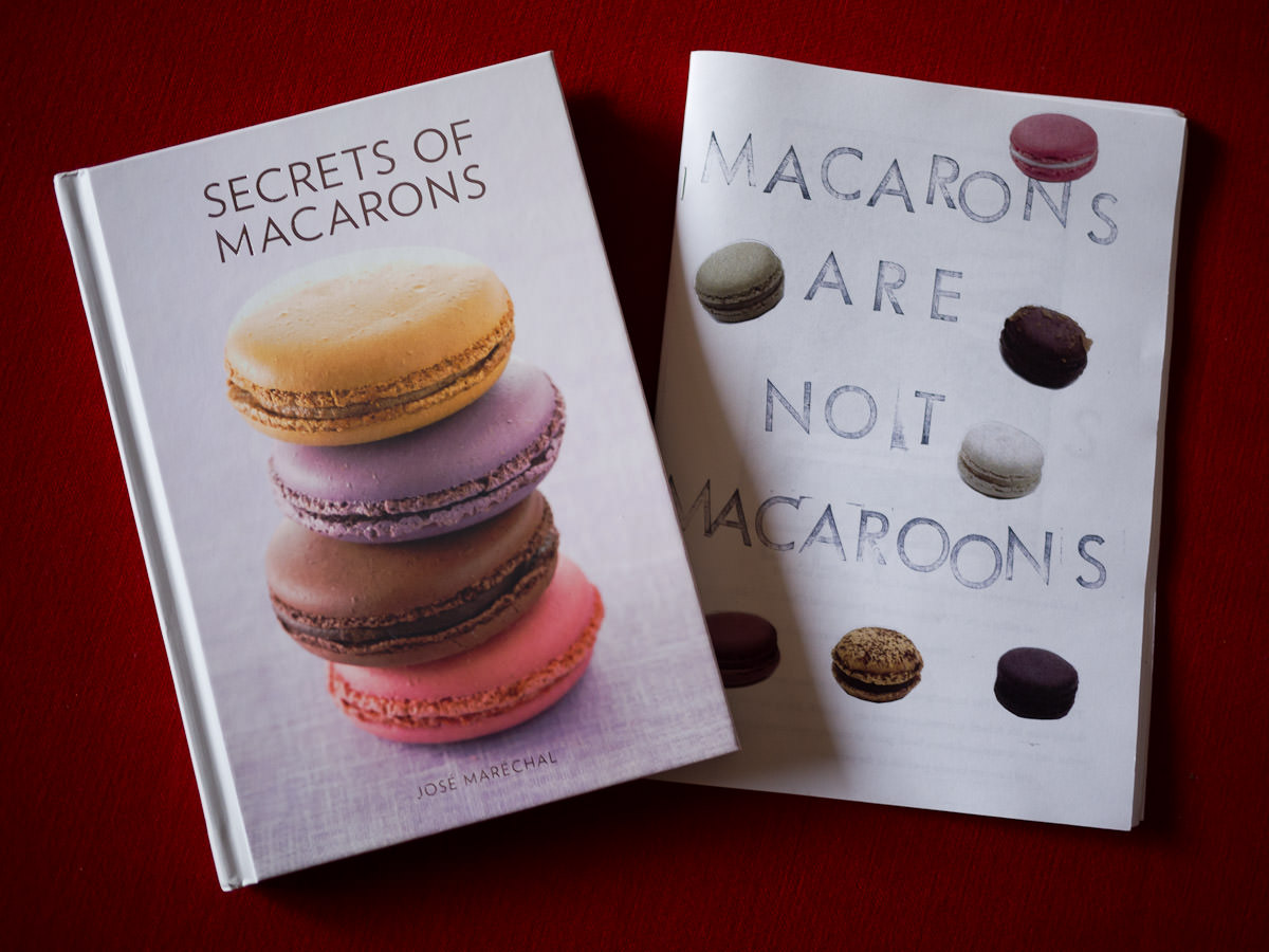 The prize: Secrets of Macarons and Macarons are not macaroons