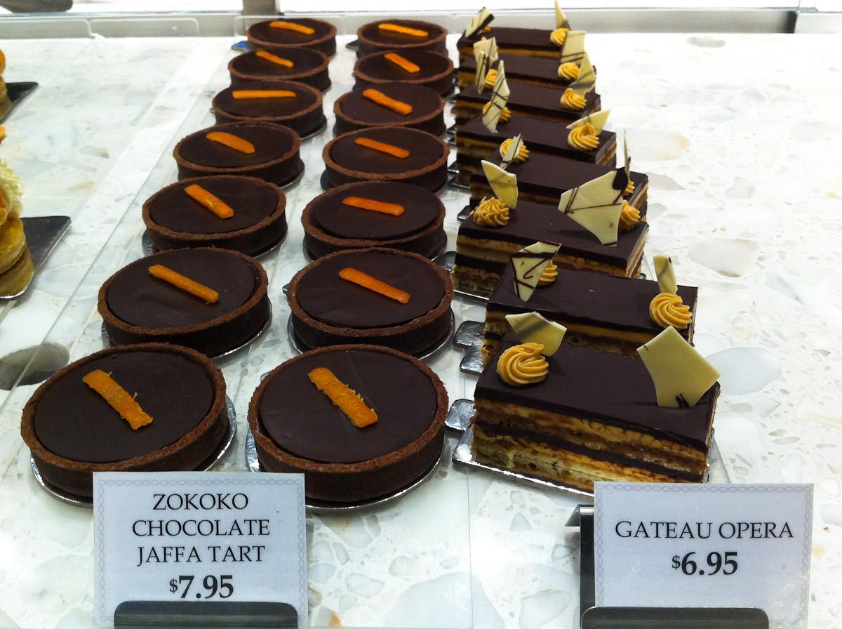 Desserts, Becasse Bakery, Westfield Sydney