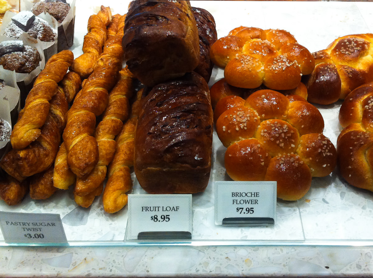 Breads, Becasse Bakery, Westfield Sydney