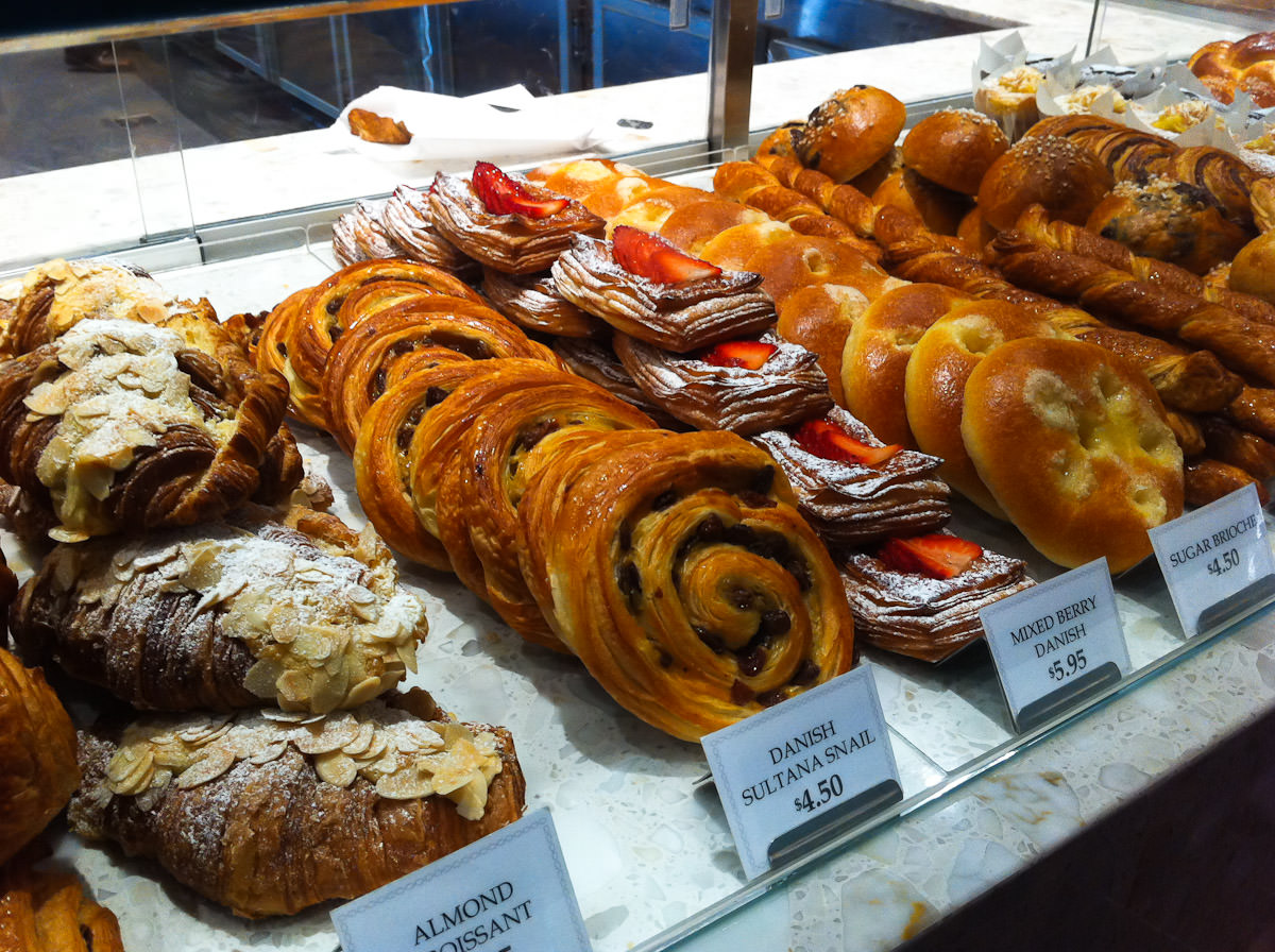 Pastries, Becasse Bakery, Westfield Sydney
