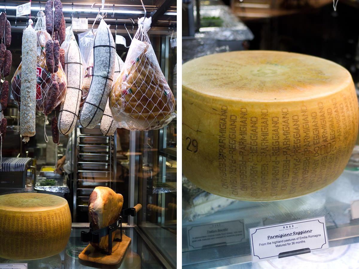 Ragu Pasta and Wine Bar - small goods and big cheese
