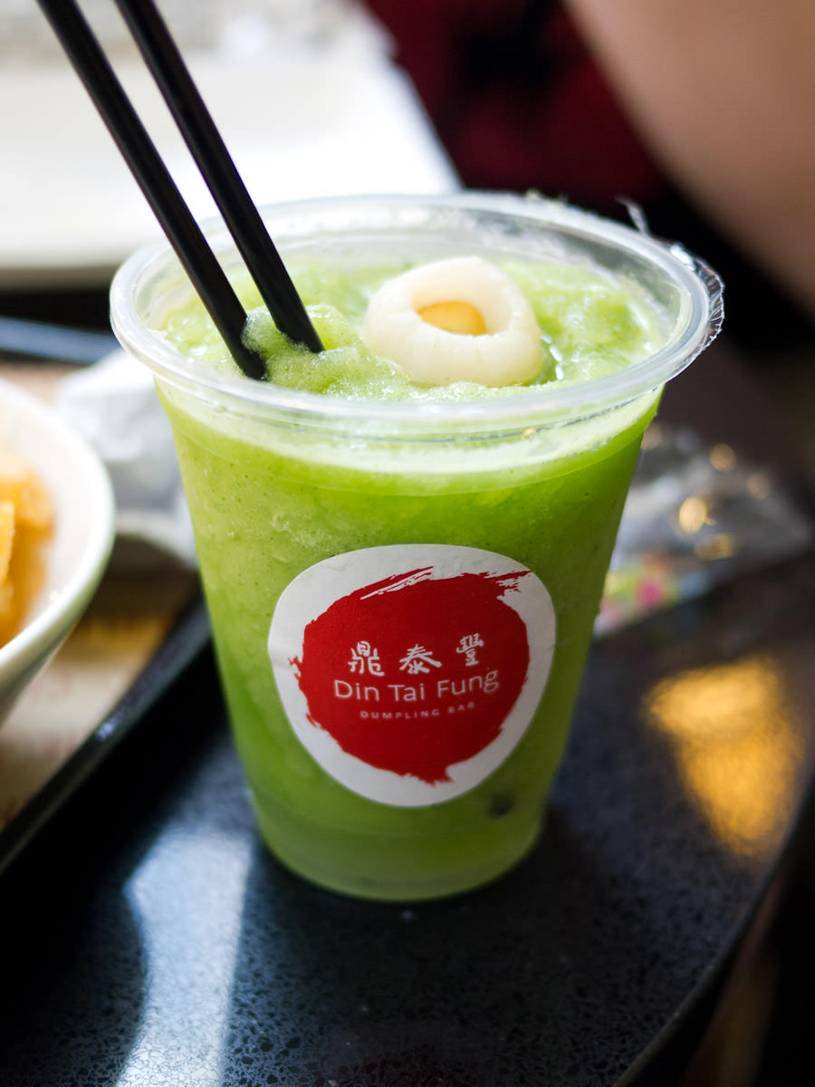 Lychee mint ice drink, Din Tai Fung