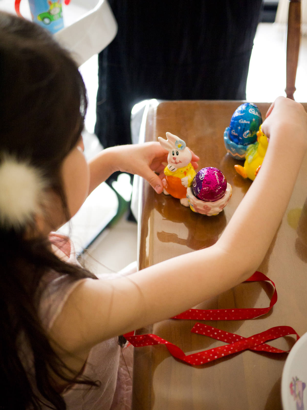 Ruby and the new egg cups