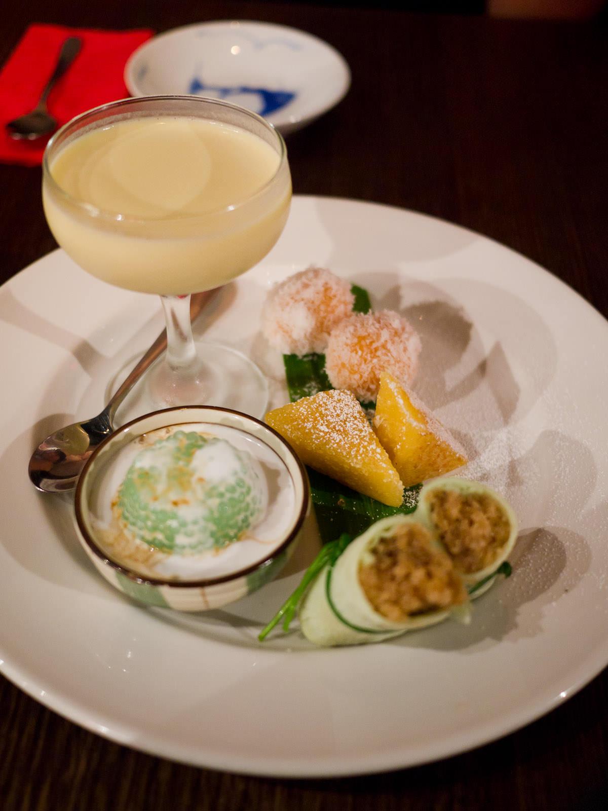 Dessert tasting plate (AU$22)