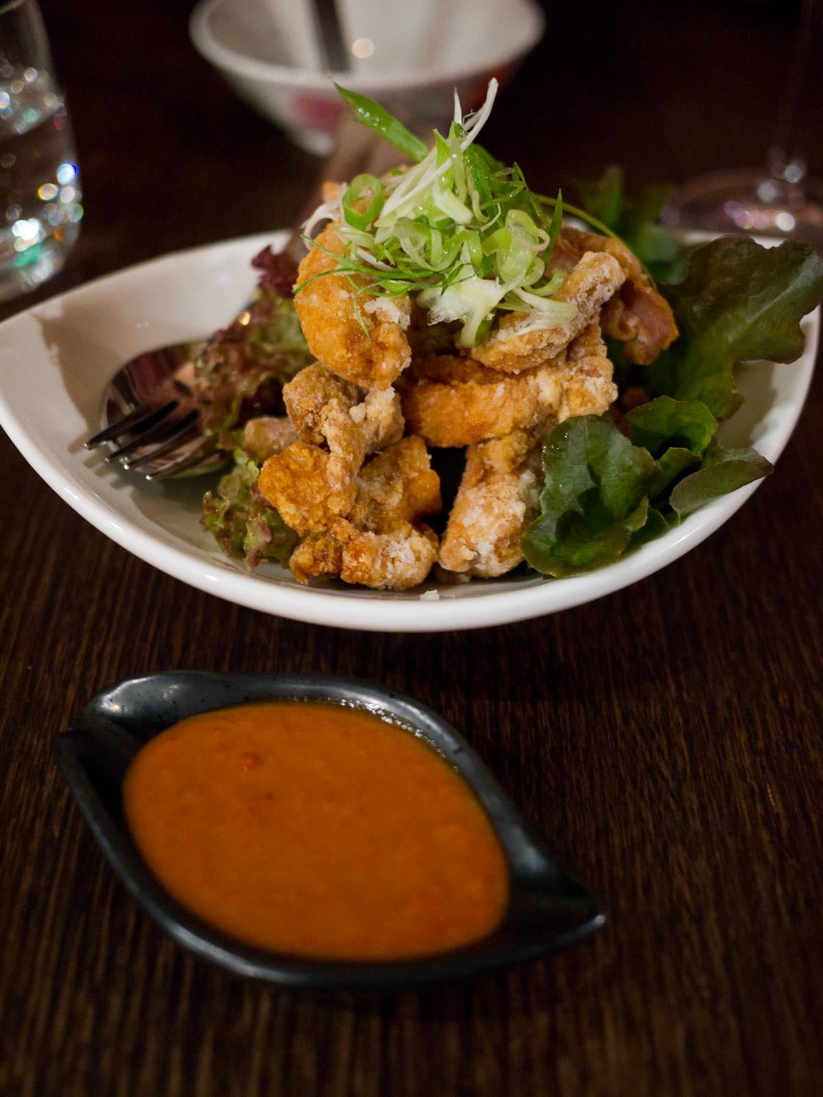 En Che Kebin Chicken - village fried chicken (AU$10)