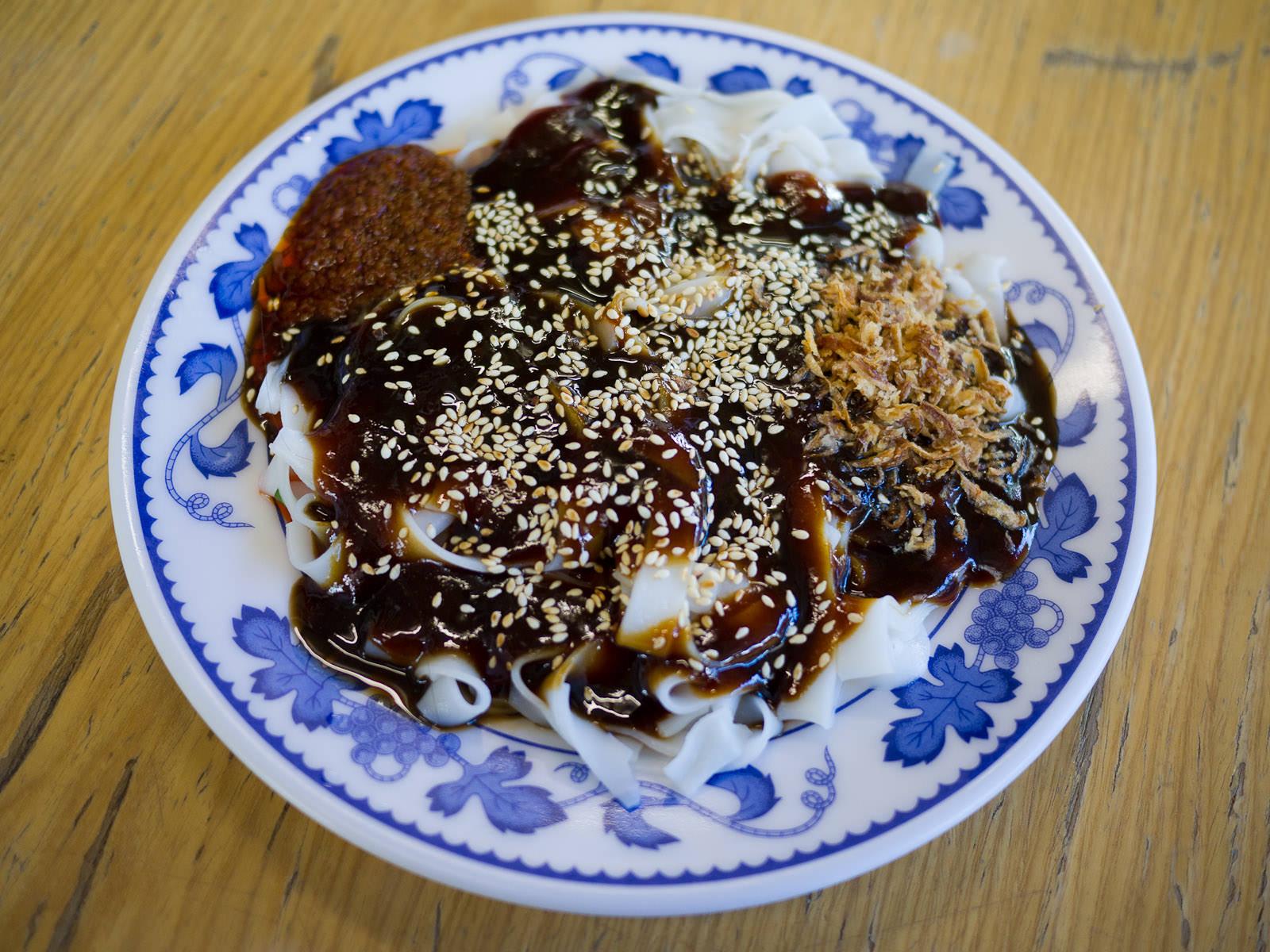 Chee cheong fun (Penang style)