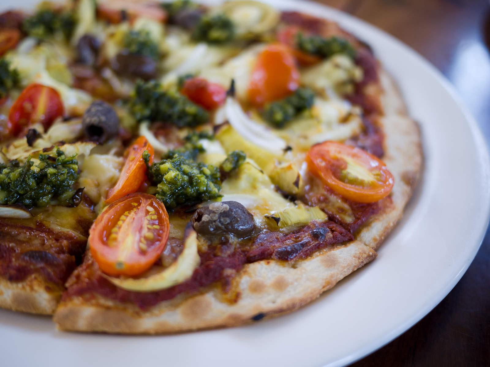 Vegetarian delight pizza