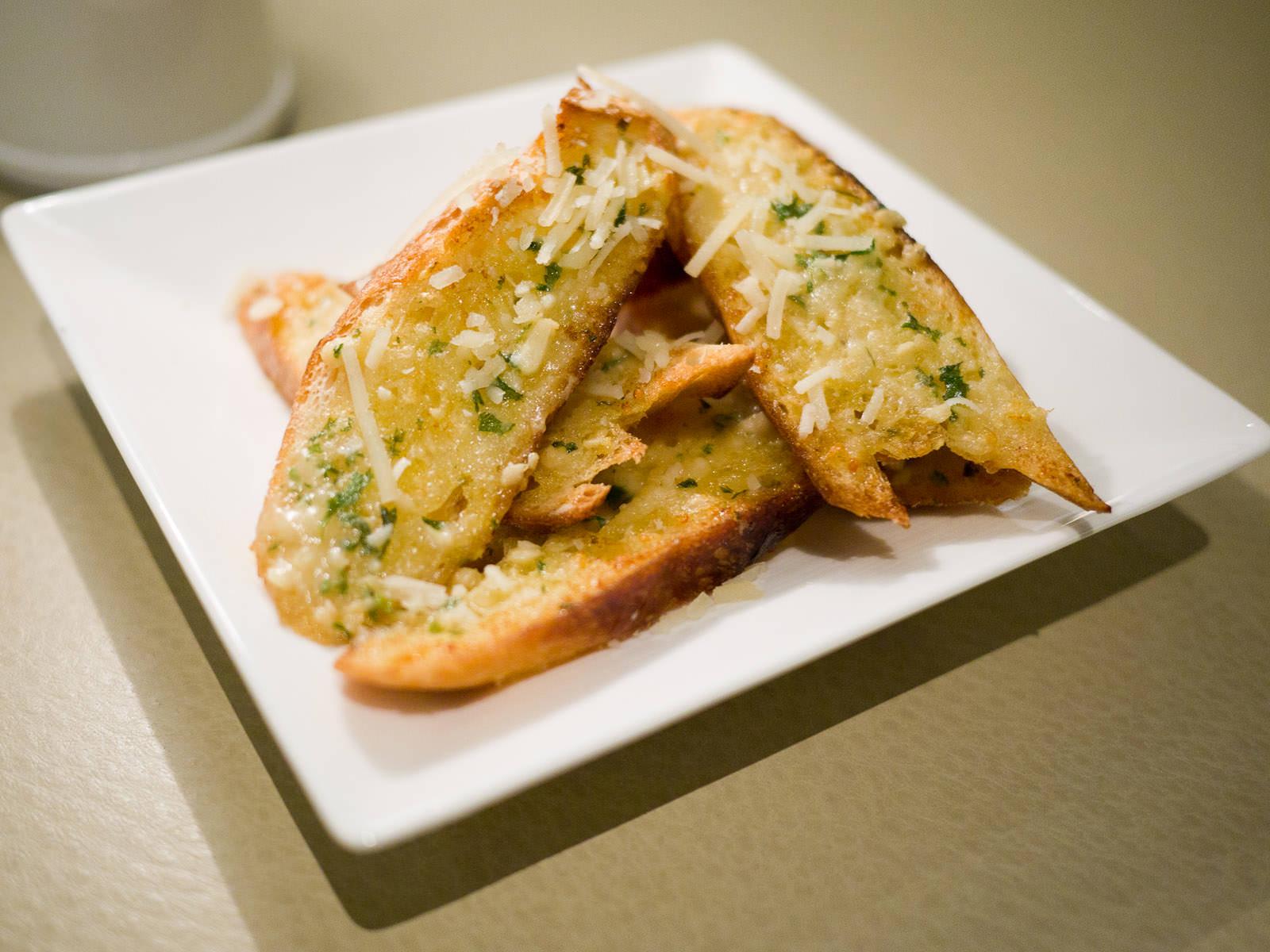 Garlic bread, AU$8