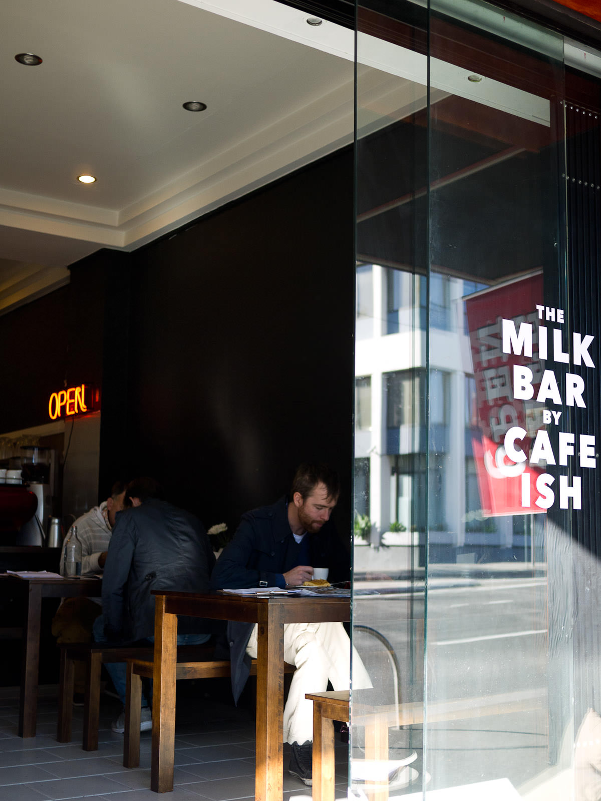 The Milk Bar by Cafe Ish - entrance