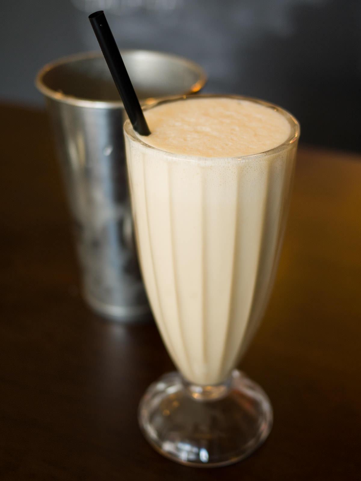 Miso caramel milkshake