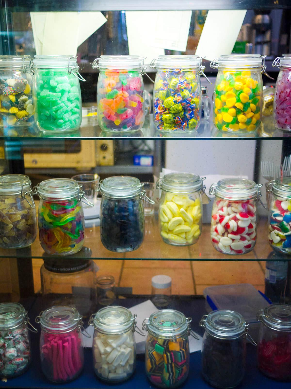 Lolly jars