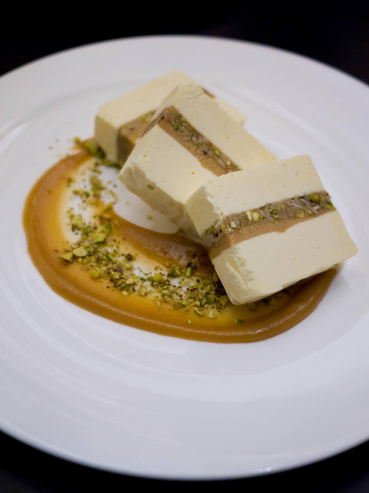 Caramel baklava ice cream (AU$15)