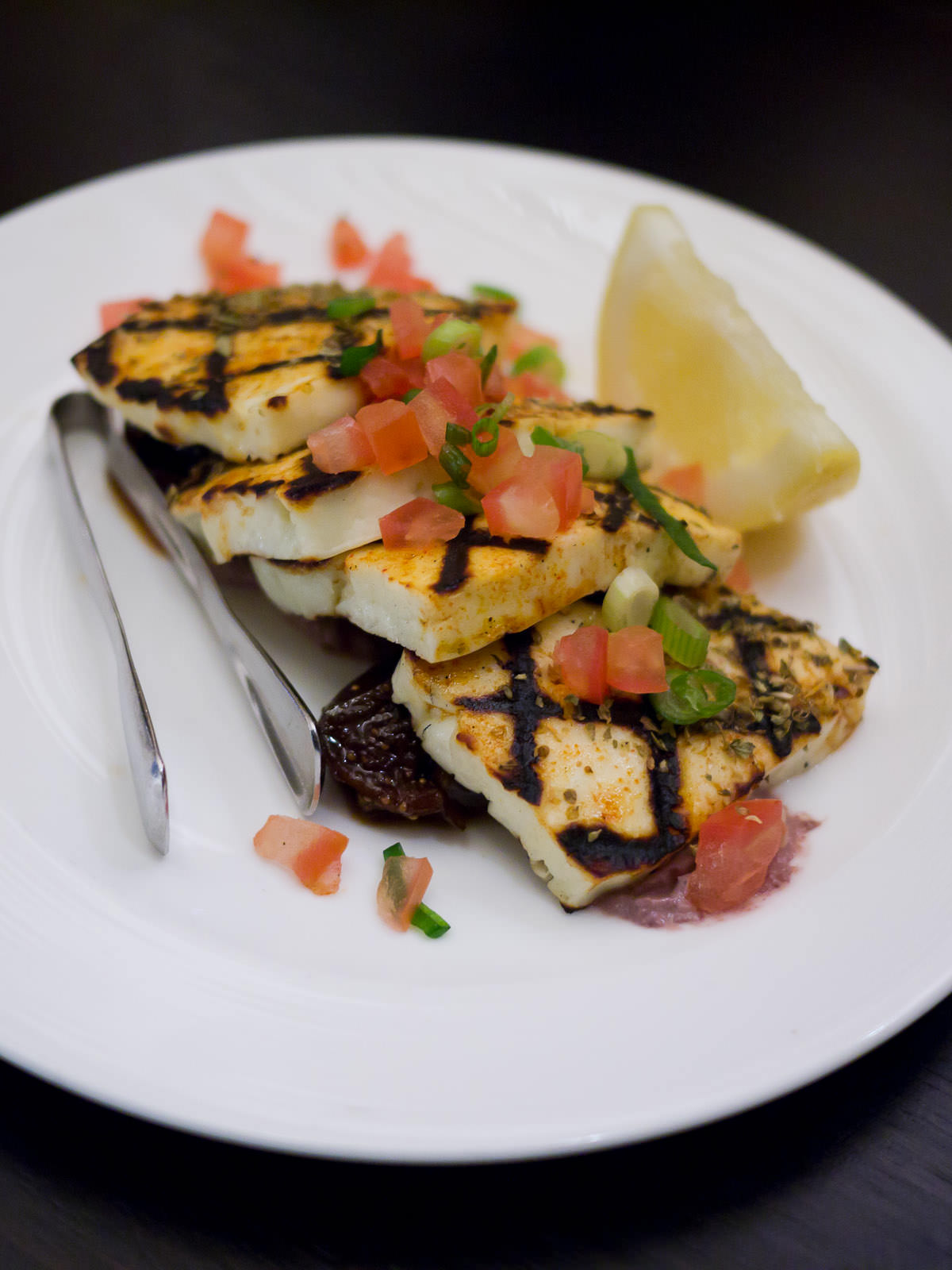 Barbecued haloumi (AU$14)