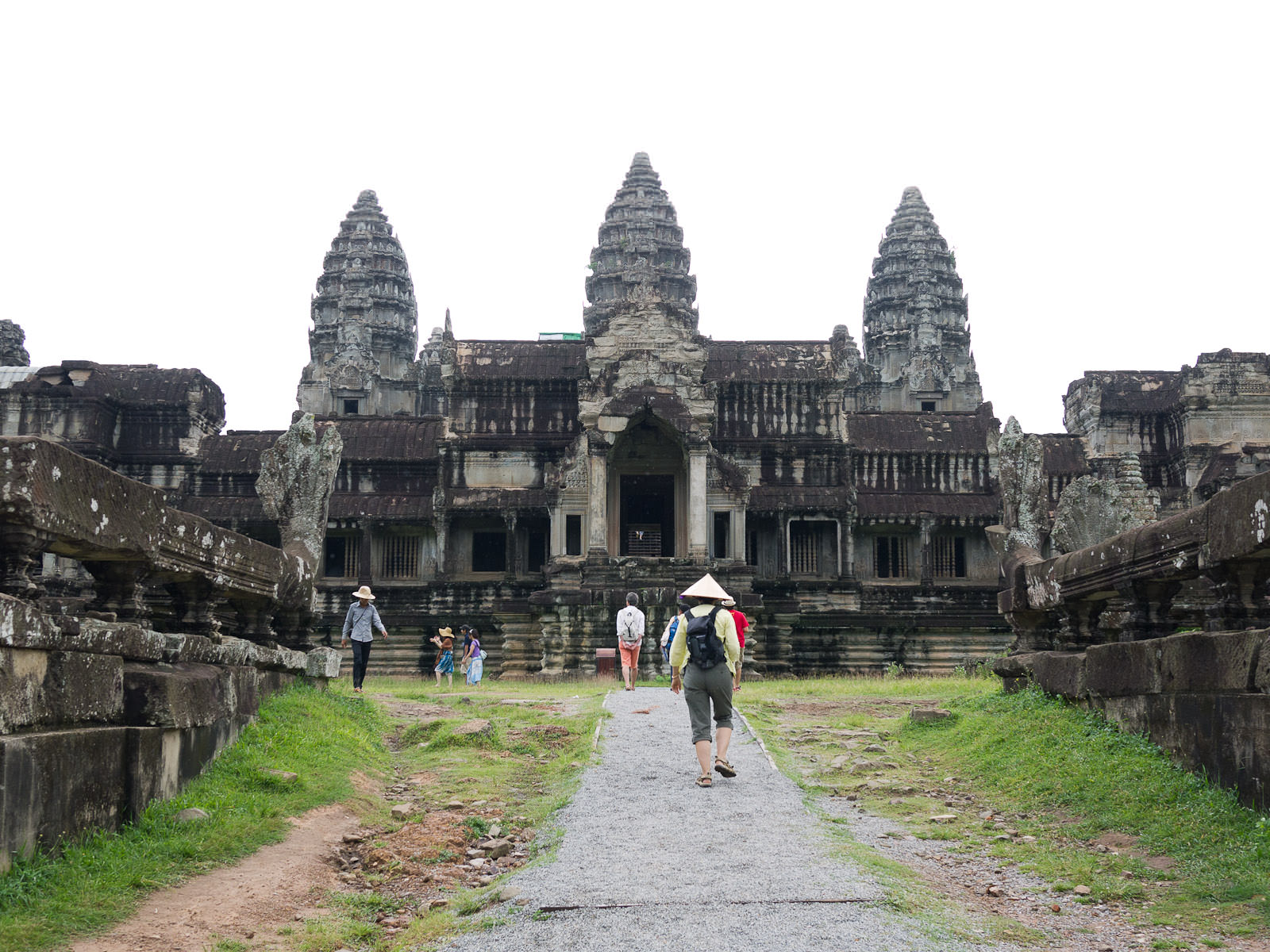 Angkor Wat - back entrance