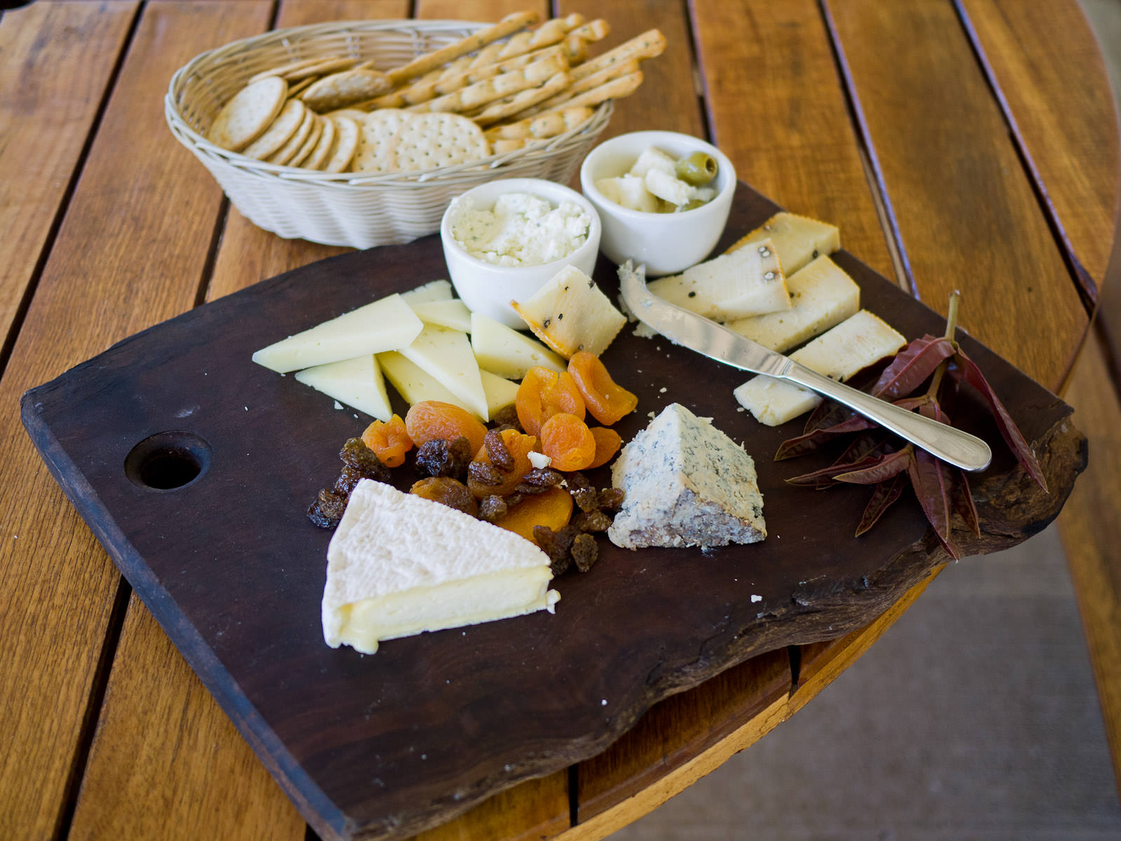 Cambray cheese platter