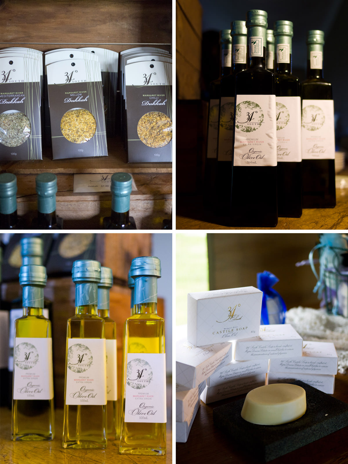 34 Degrees South olive oil products