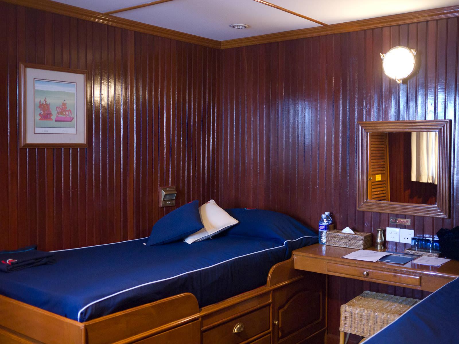 My upper deck cabin,  RV Mekong Pandaw
