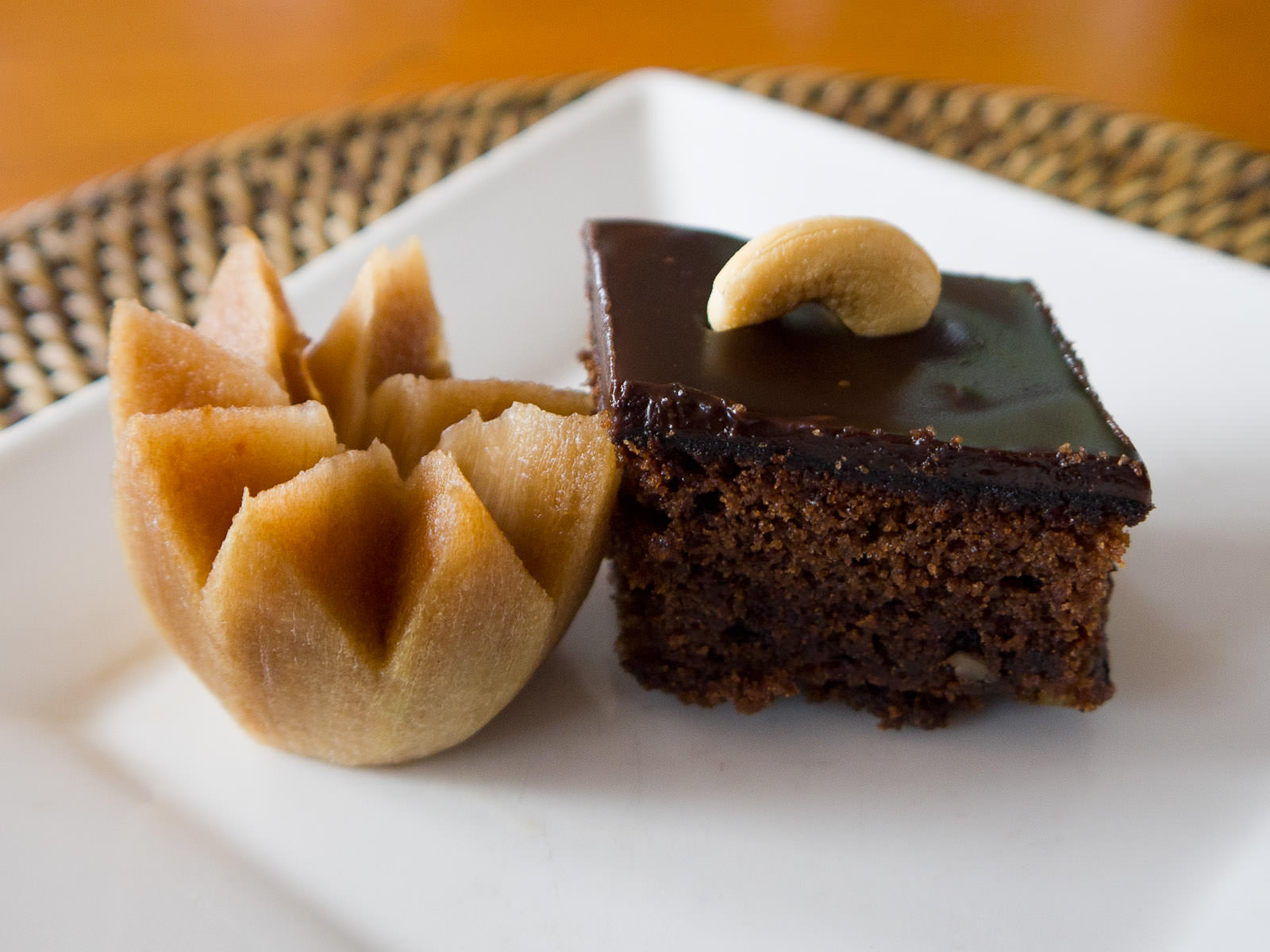 Sapodilla and brownie