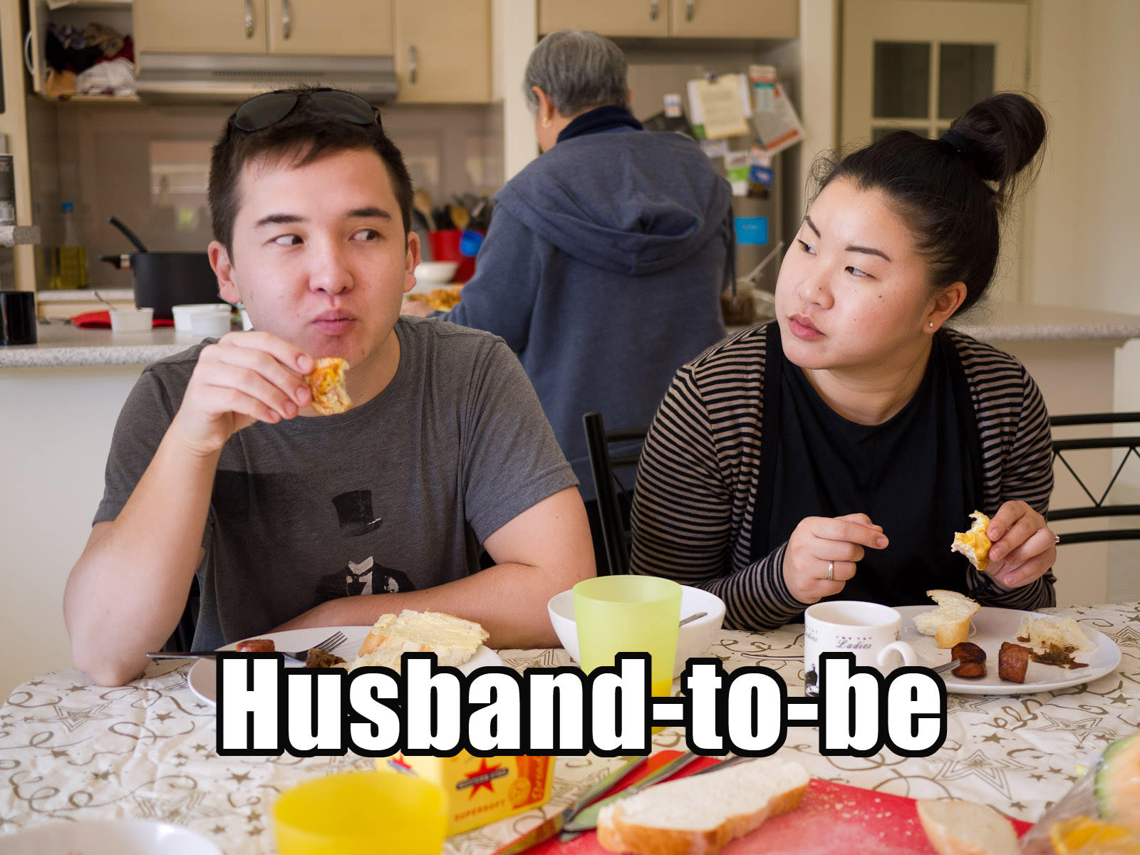 Husband-to-be