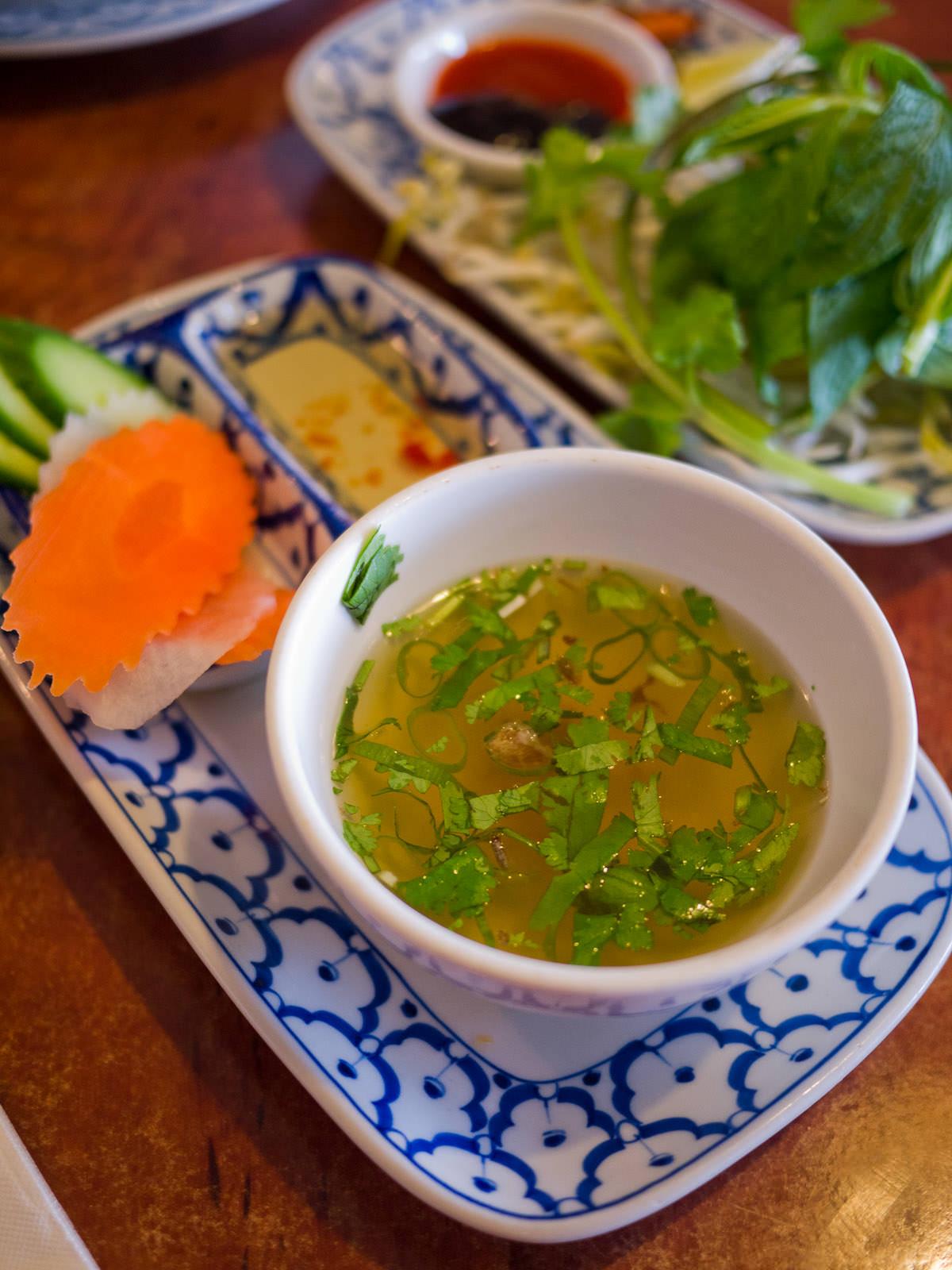 Soup (with Com suong)