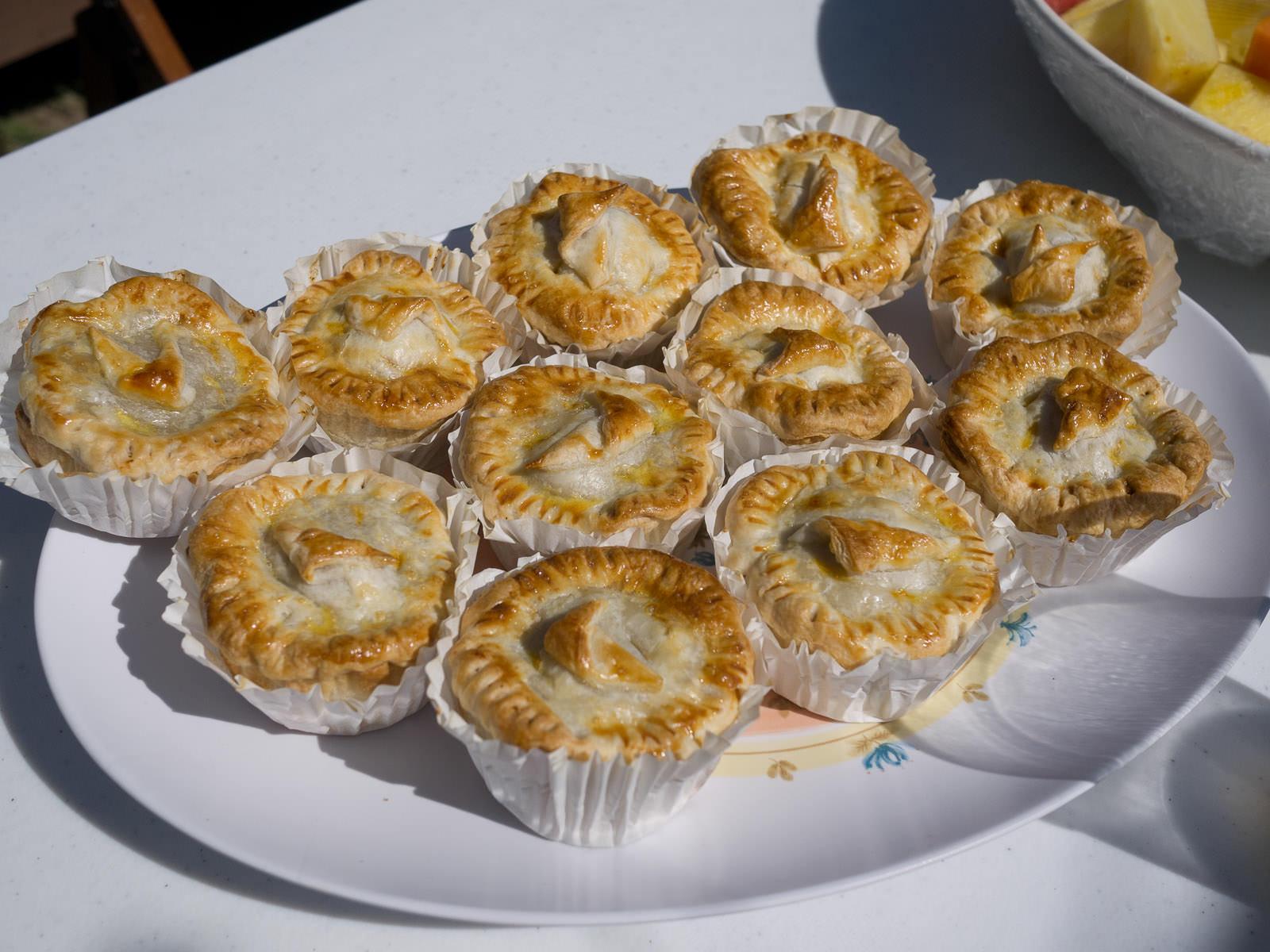 Mum's mini meat pies