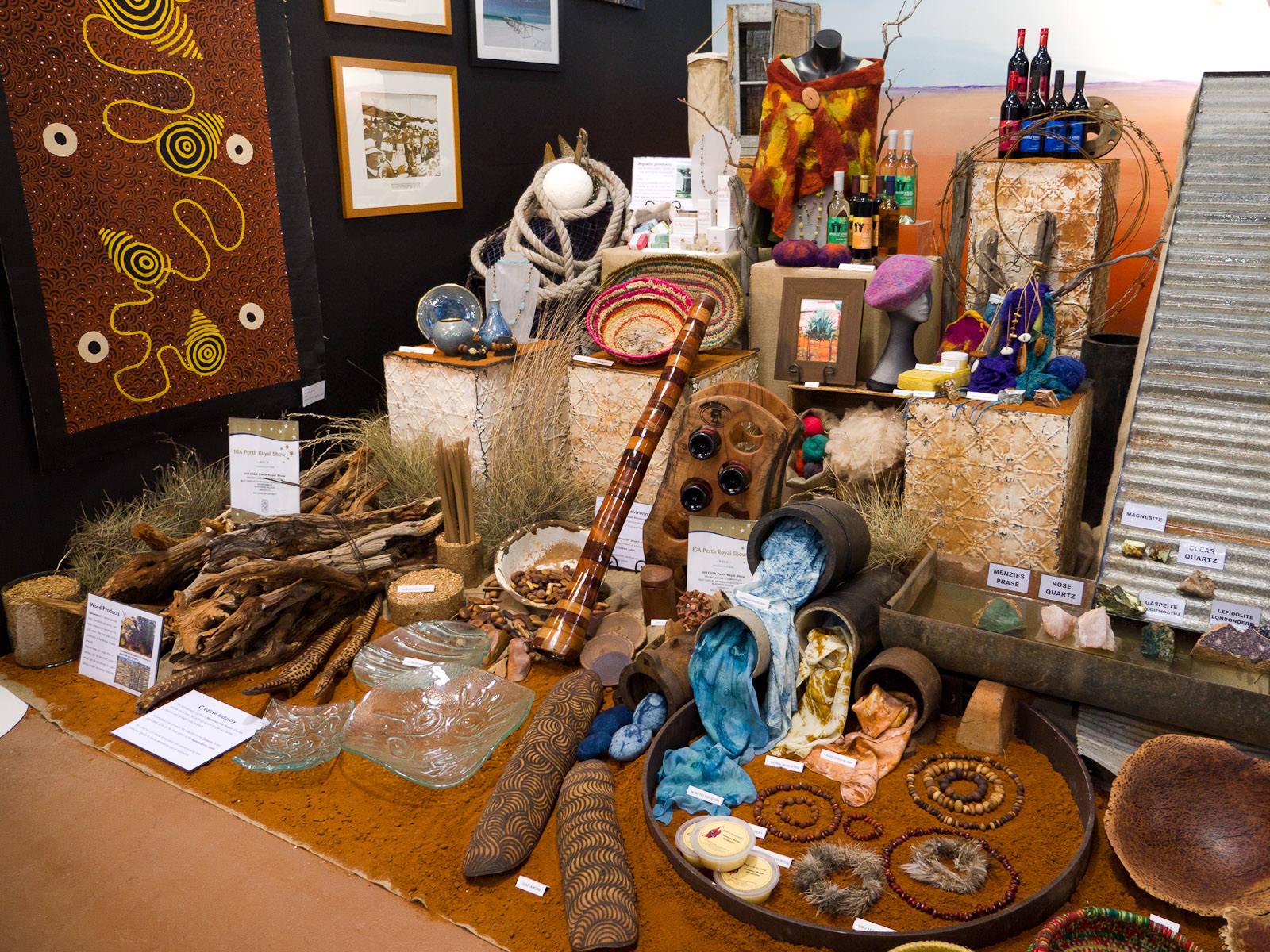Goldfields region display