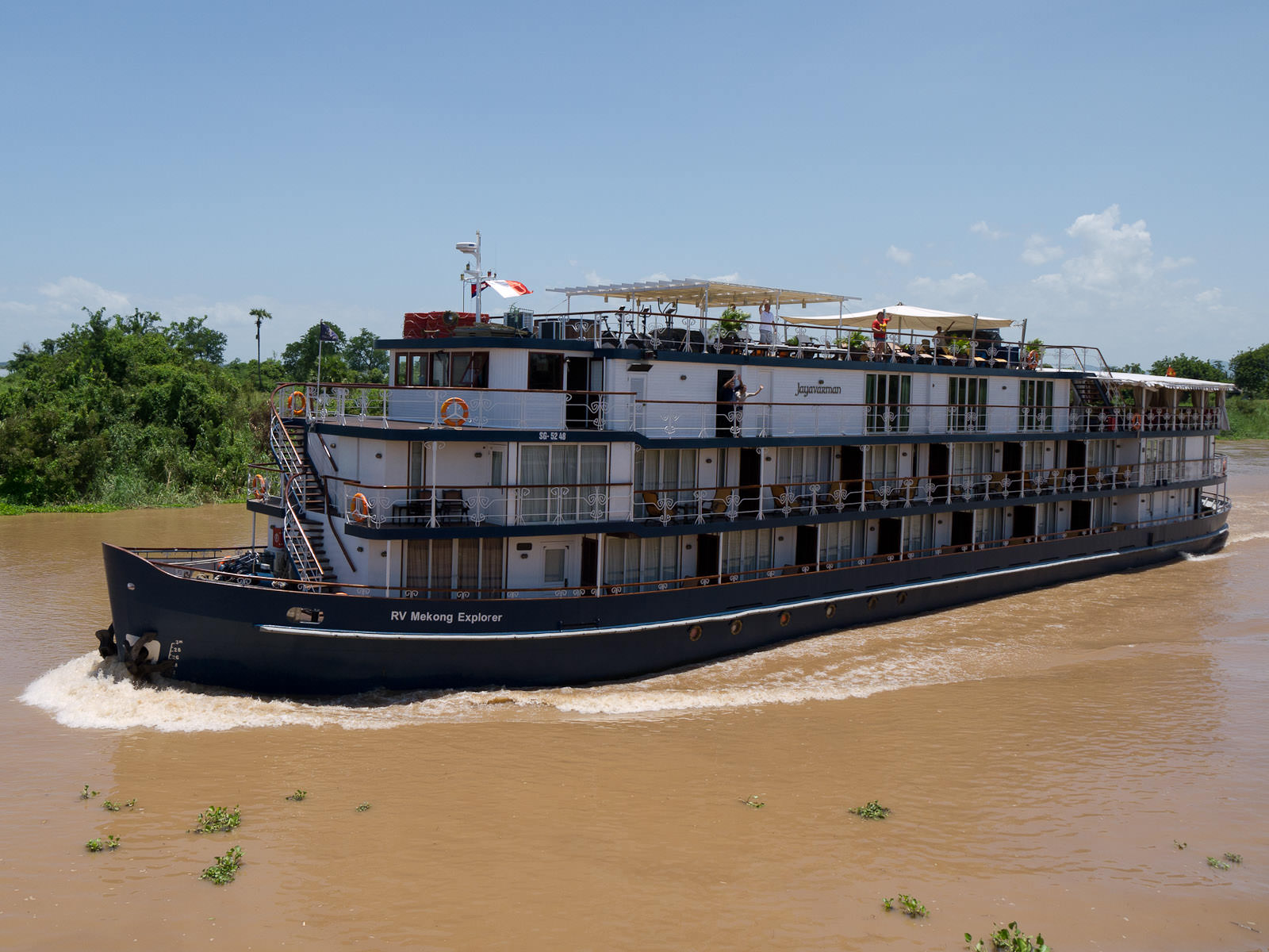 Our sister ship, the RV Mekong Explorer
