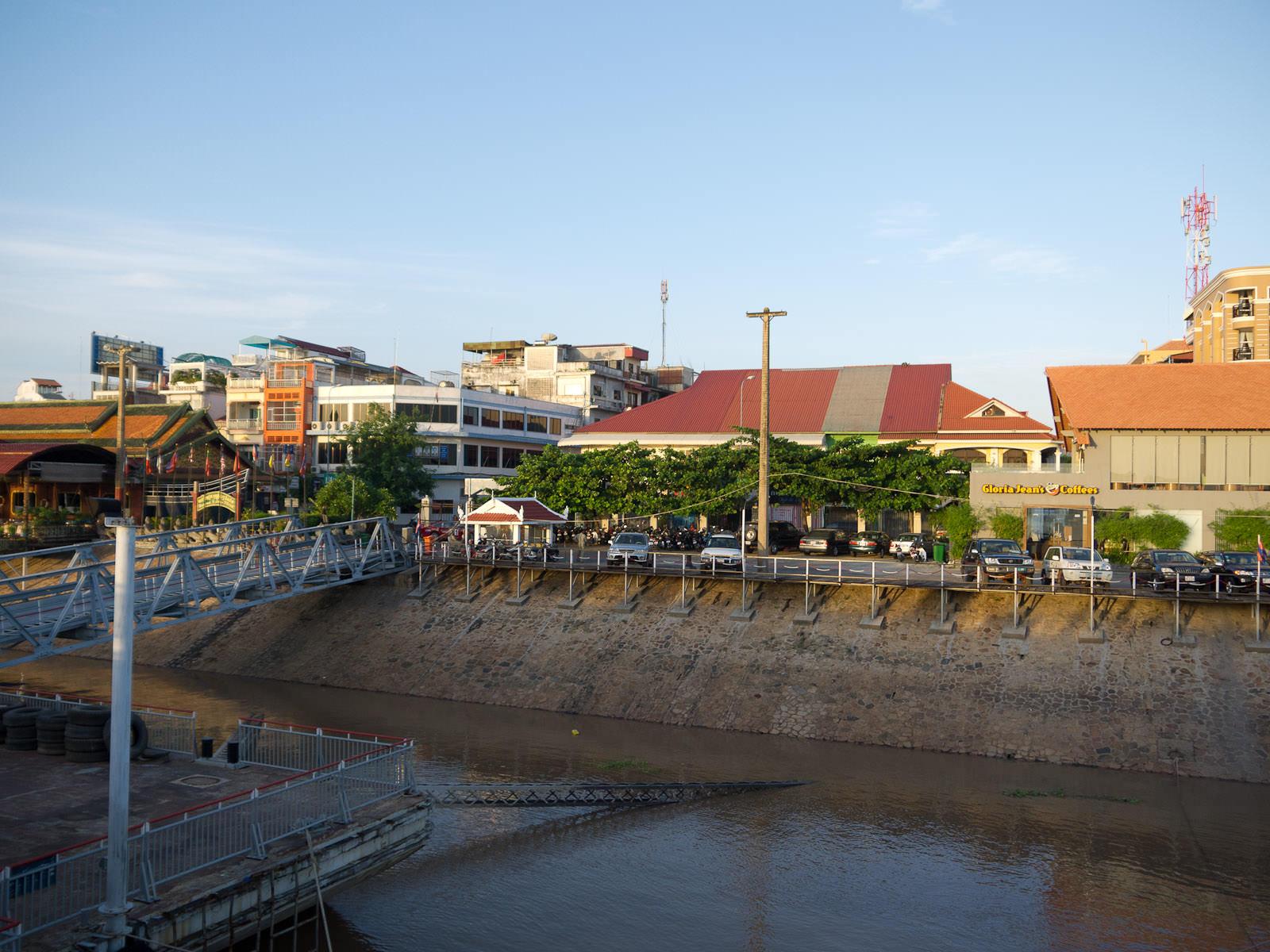 Moored at Phnom Penh