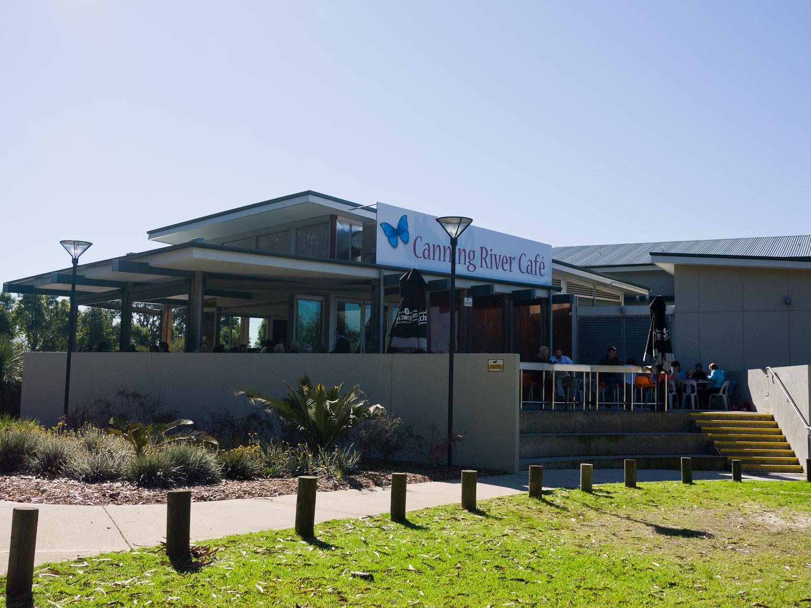 Canning River Cafe, 'back' entrance
