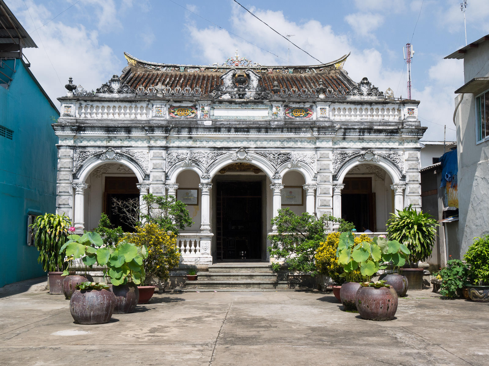 The house of Huynh Thuy Le