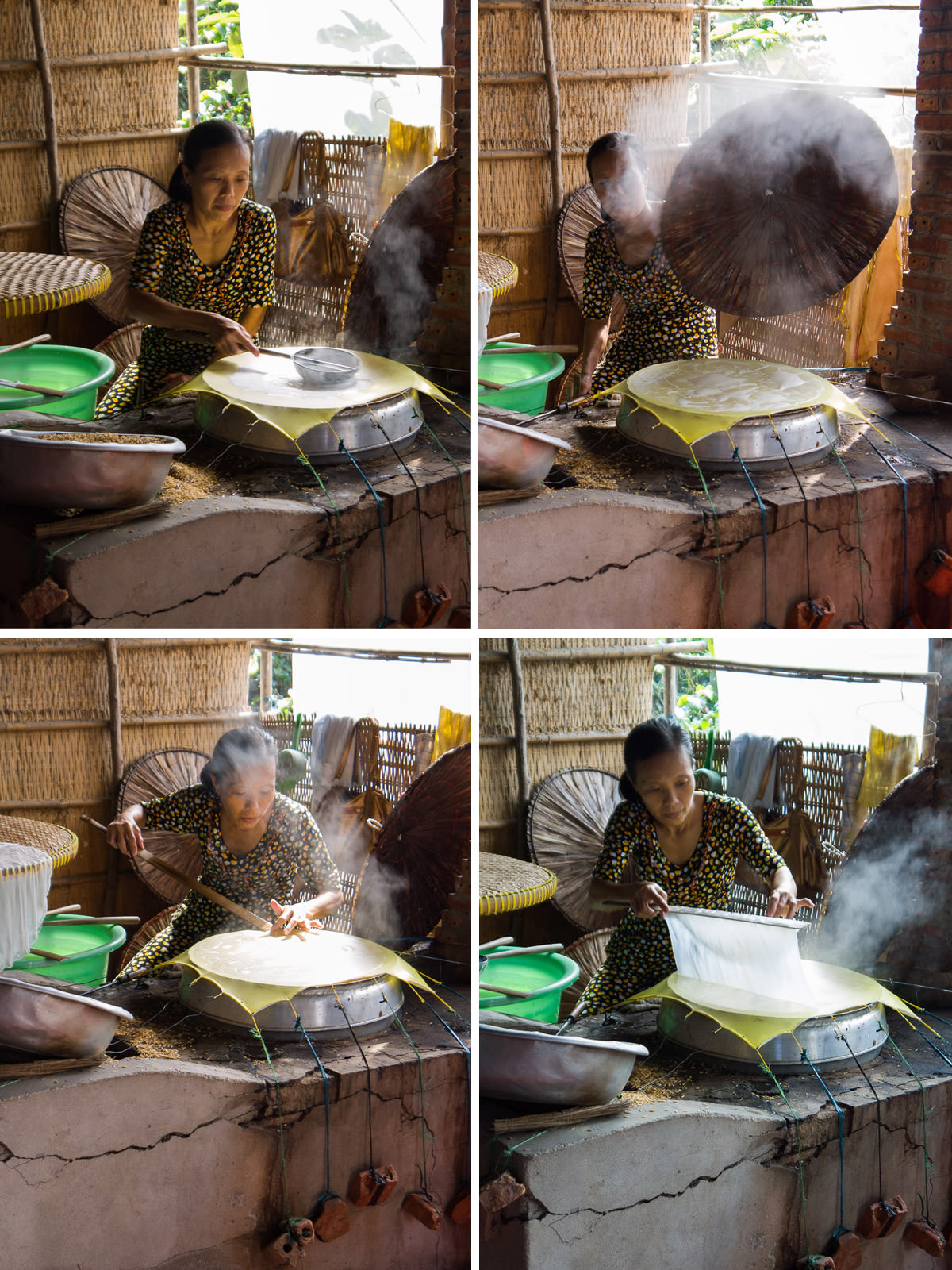 Making rice paper