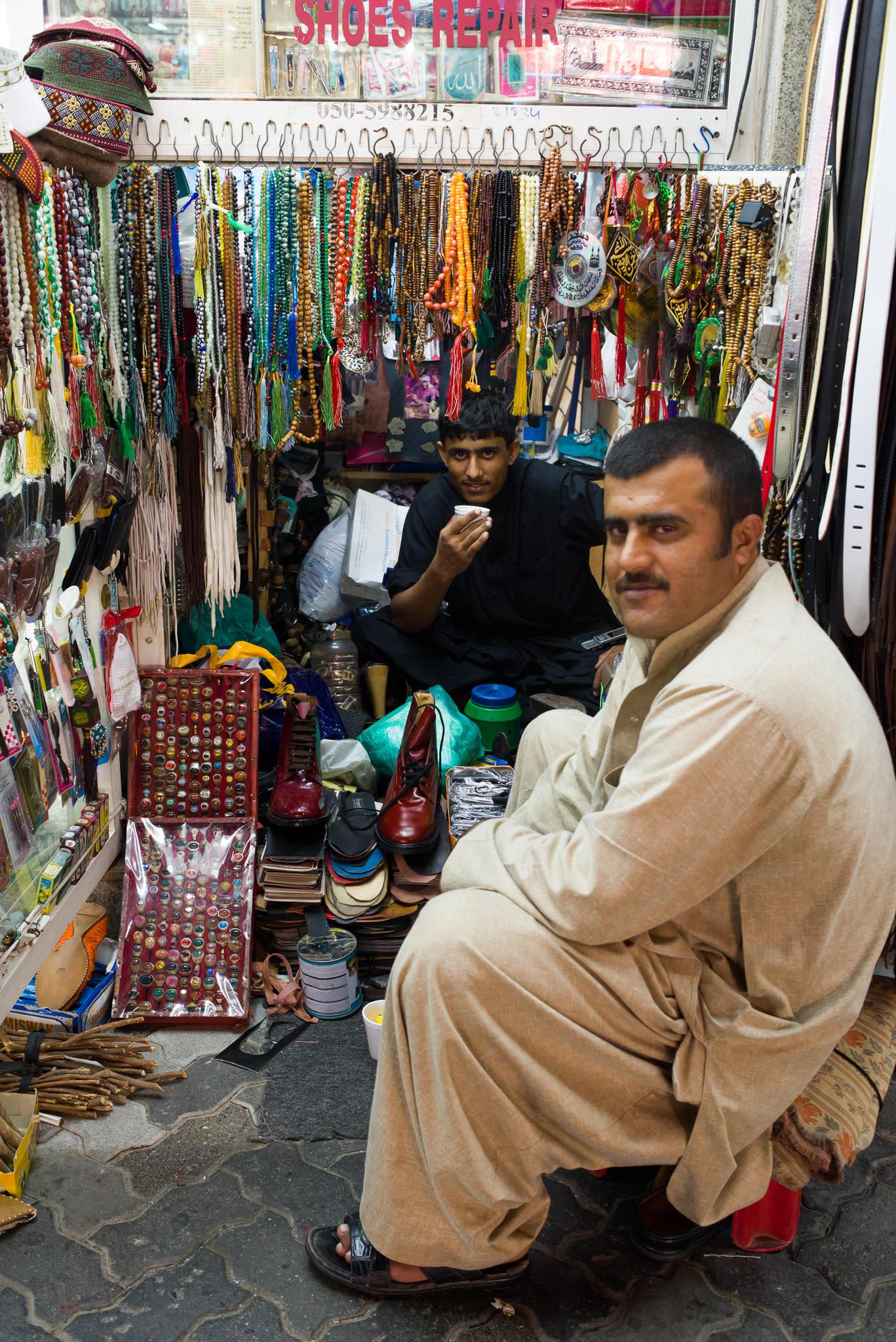 A tiny alcove in a street in Satwa