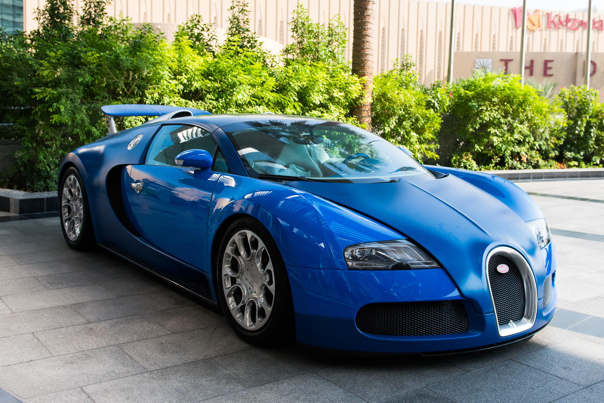Bugatti Veyron - fastest street-legal car in the world