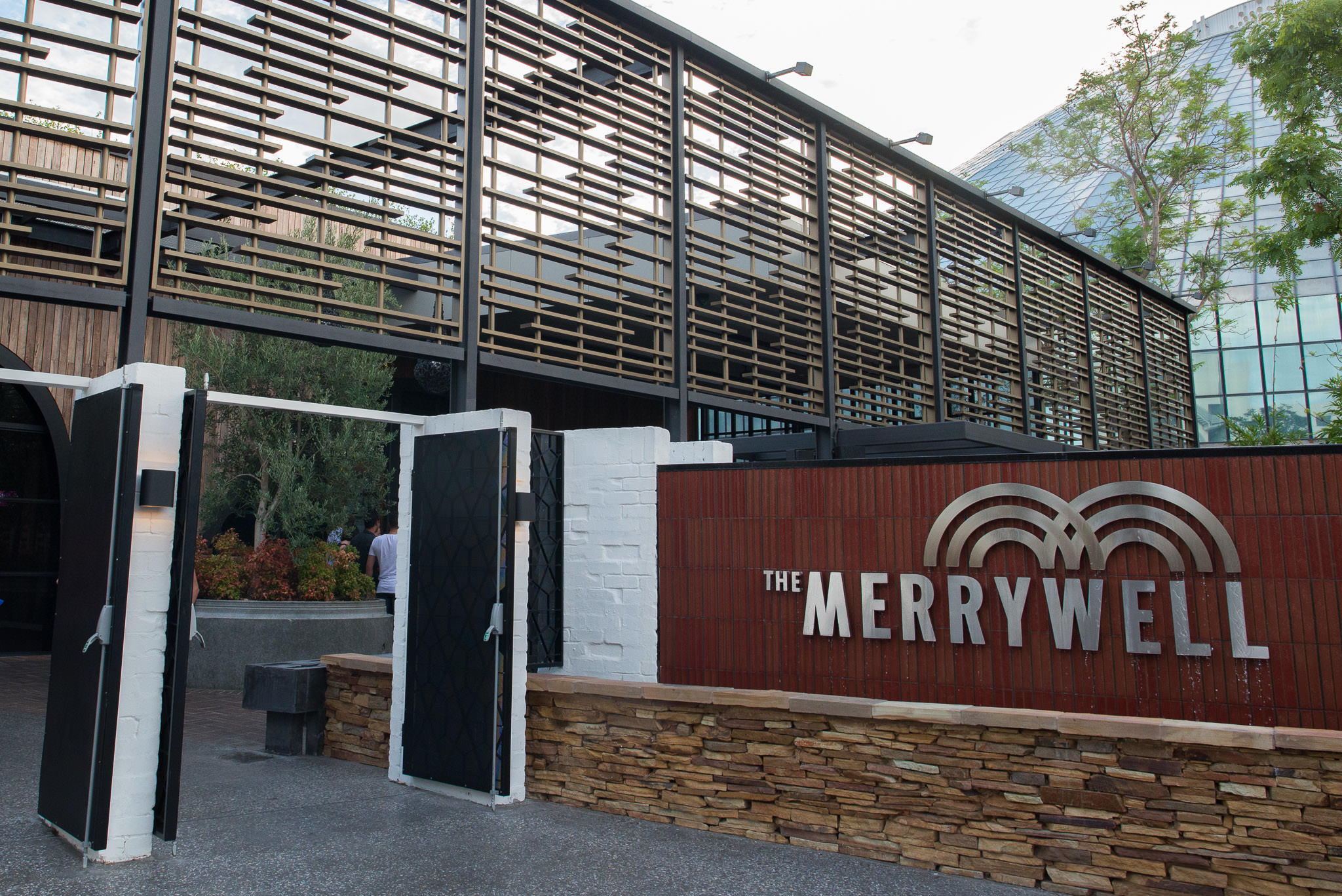 The Merrywell entrance