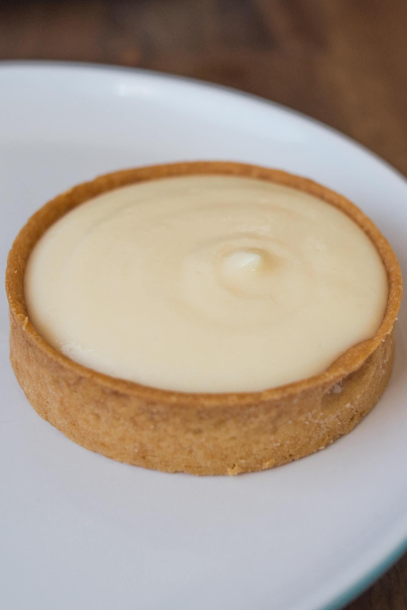 Lemon curd tart (AU$4.50)