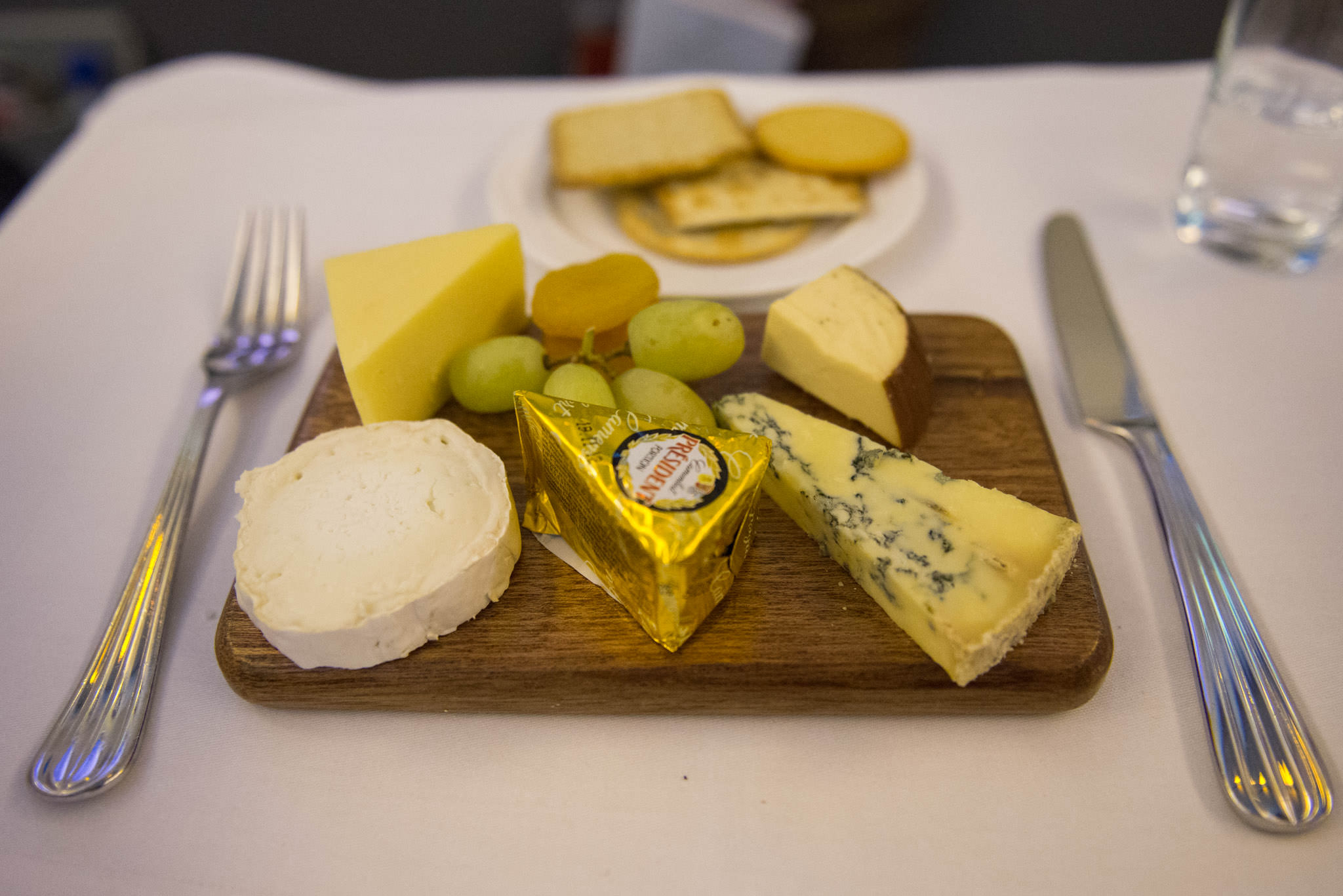 A generous cheeseboard for one