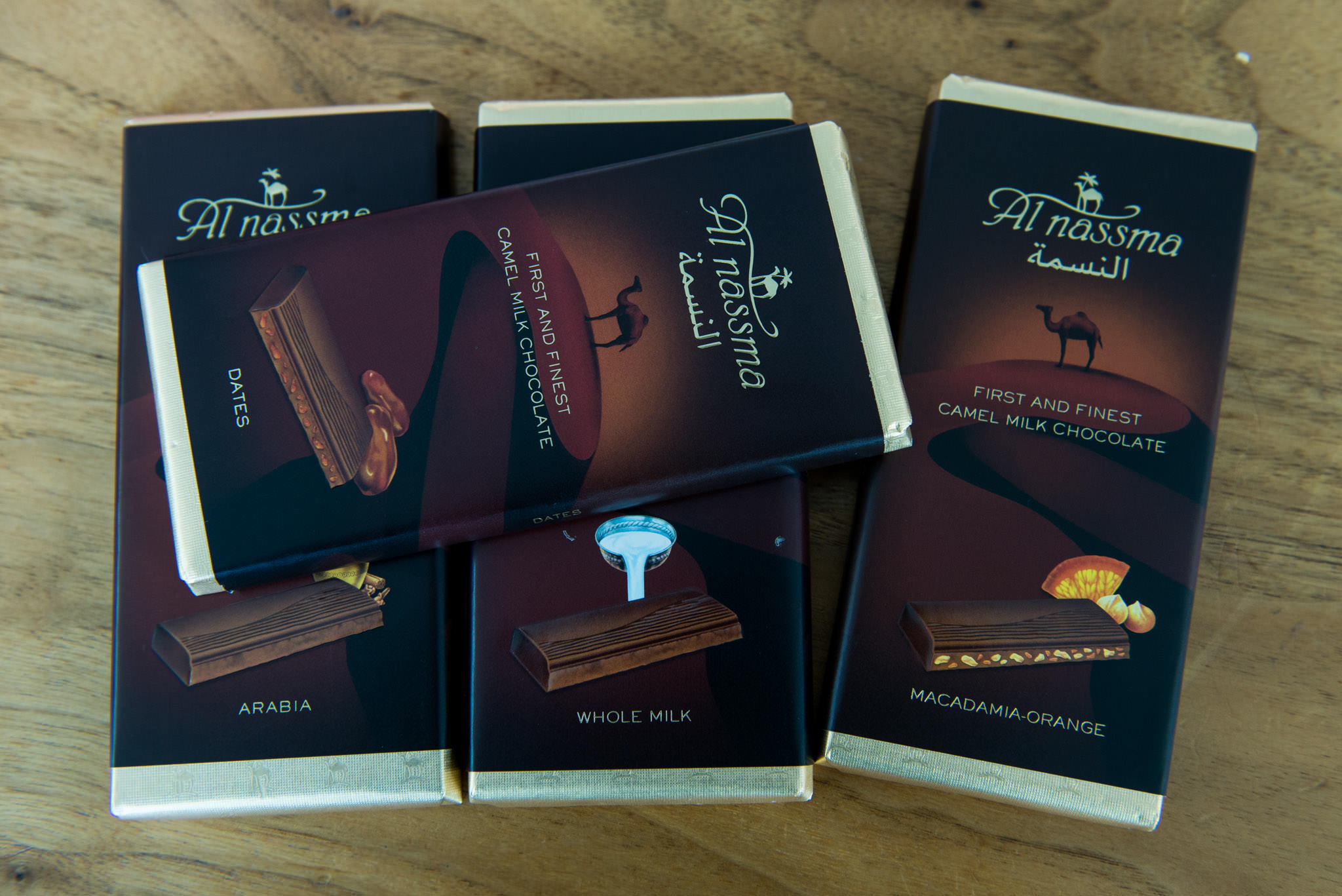 Camel milk chocolate