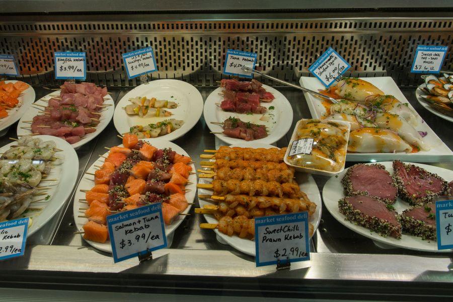 Market seafood deli