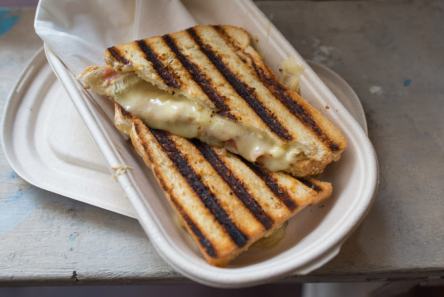 Brie & Jam sandwich