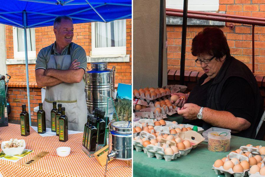 Ti Kouka extra virgin olive oil; Sunset free range eggs